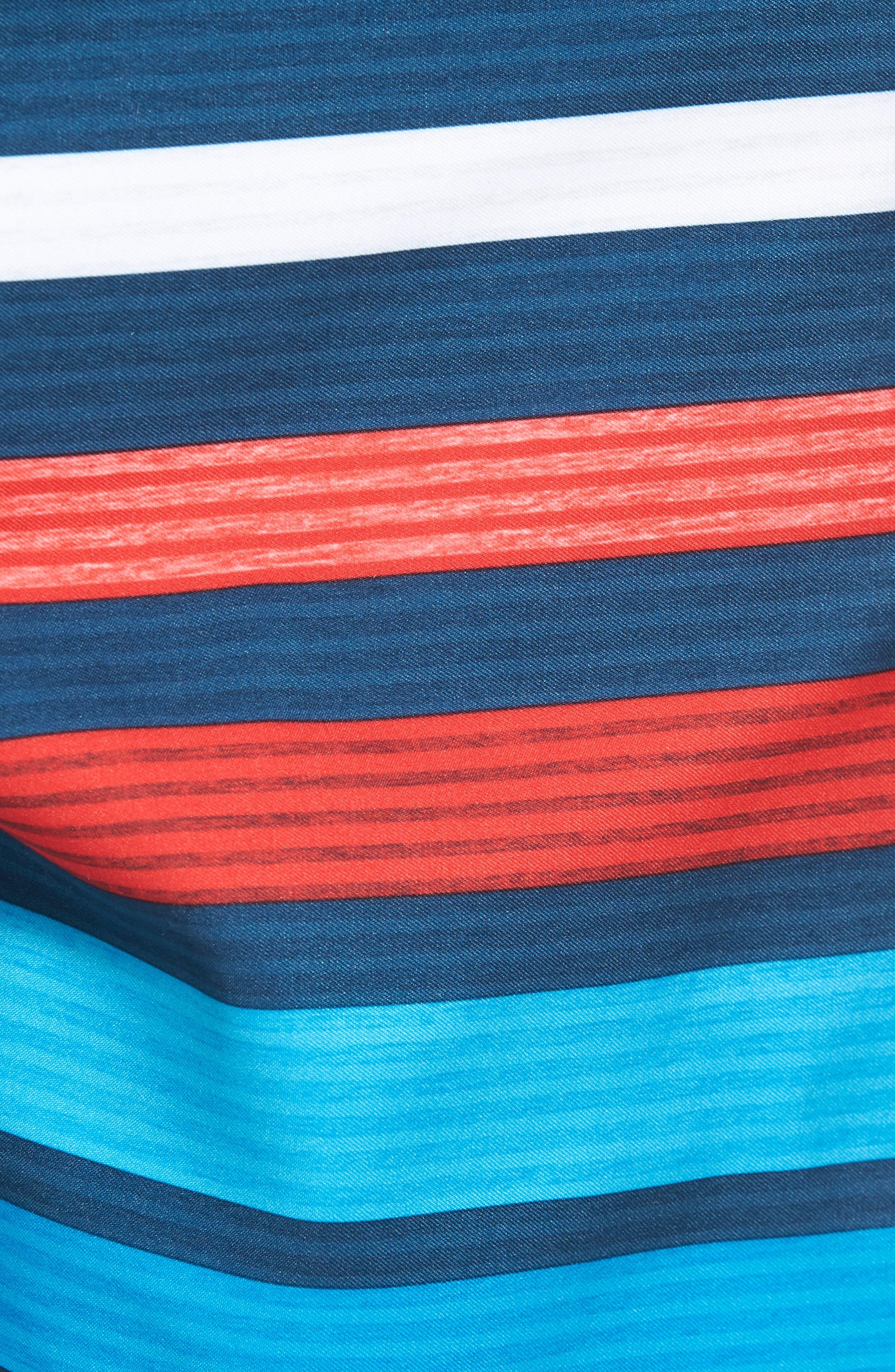 All Day OG Stripe Board Shorts,                             Alternate thumbnail 14, color,
