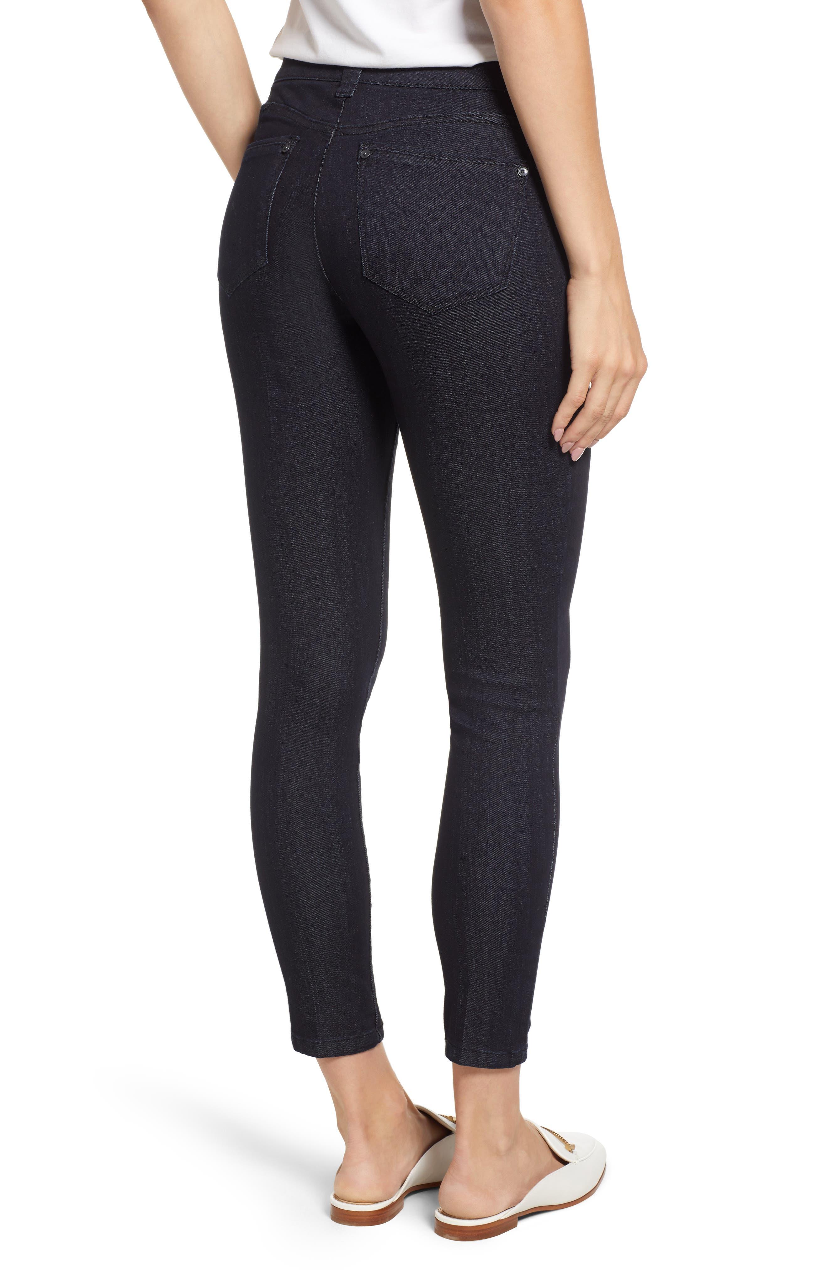 Ab-solution Ankle Skinny Jeans,                             Alternate thumbnail 2, color,                             INDIGO