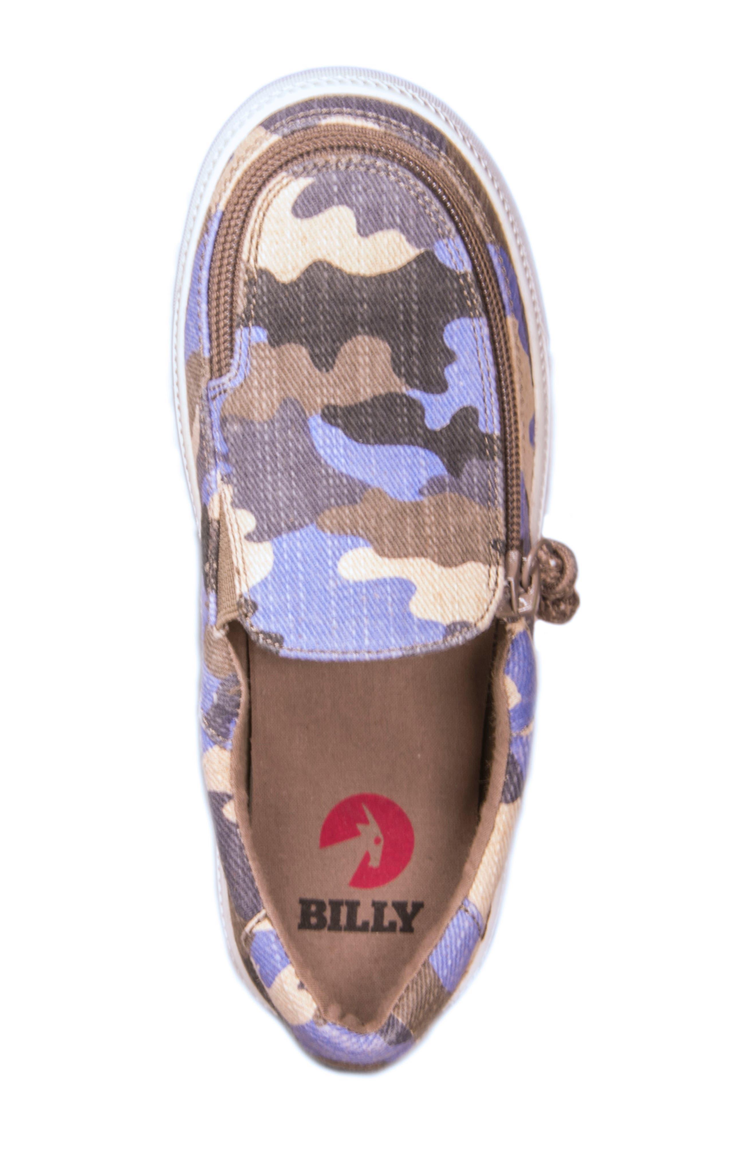 Zip Around Low Top Sneaker,                             Alternate thumbnail 4, color,                             440