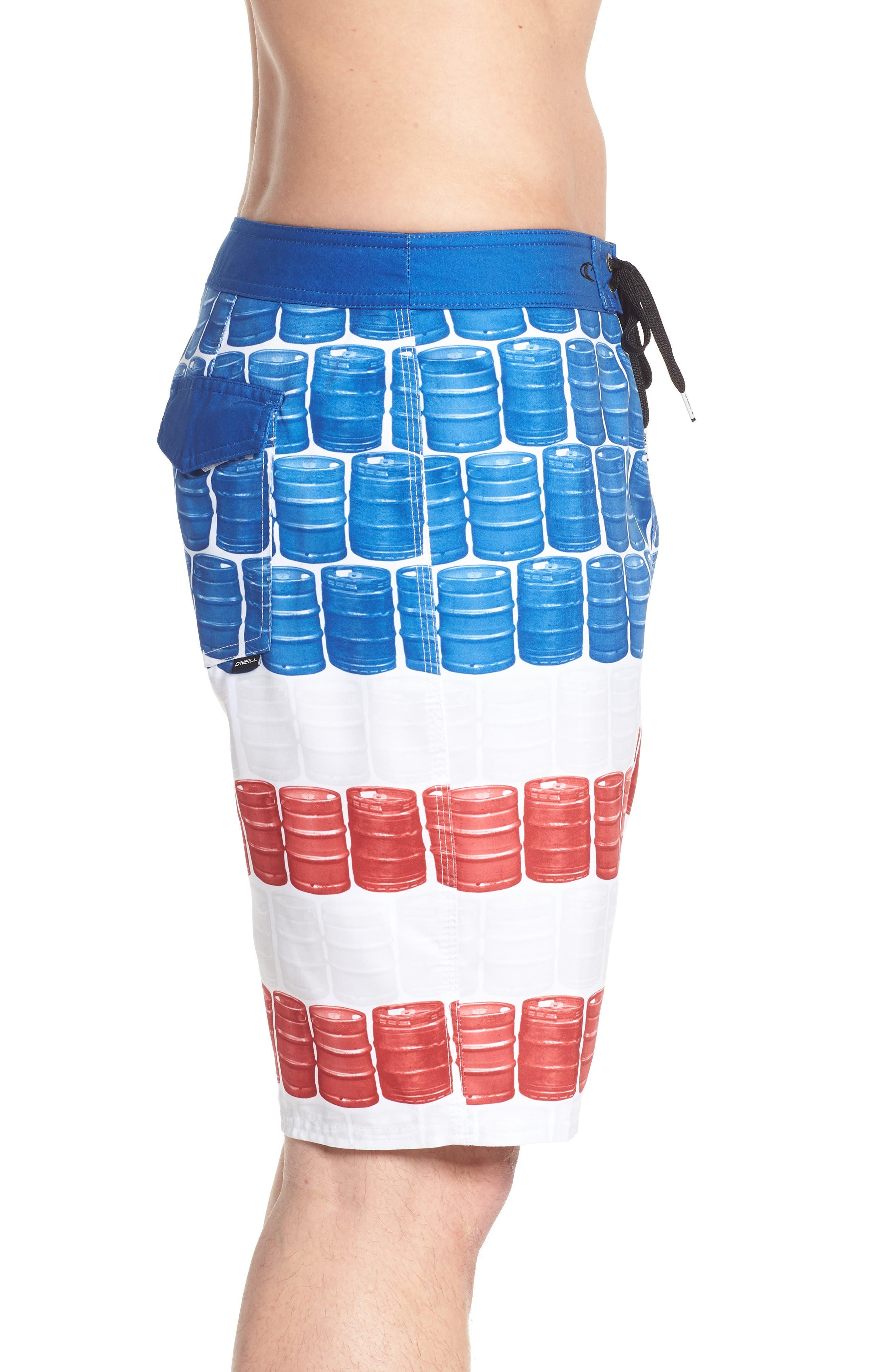 Kegleg Board Shorts,                             Alternate thumbnail 3, color,                             840