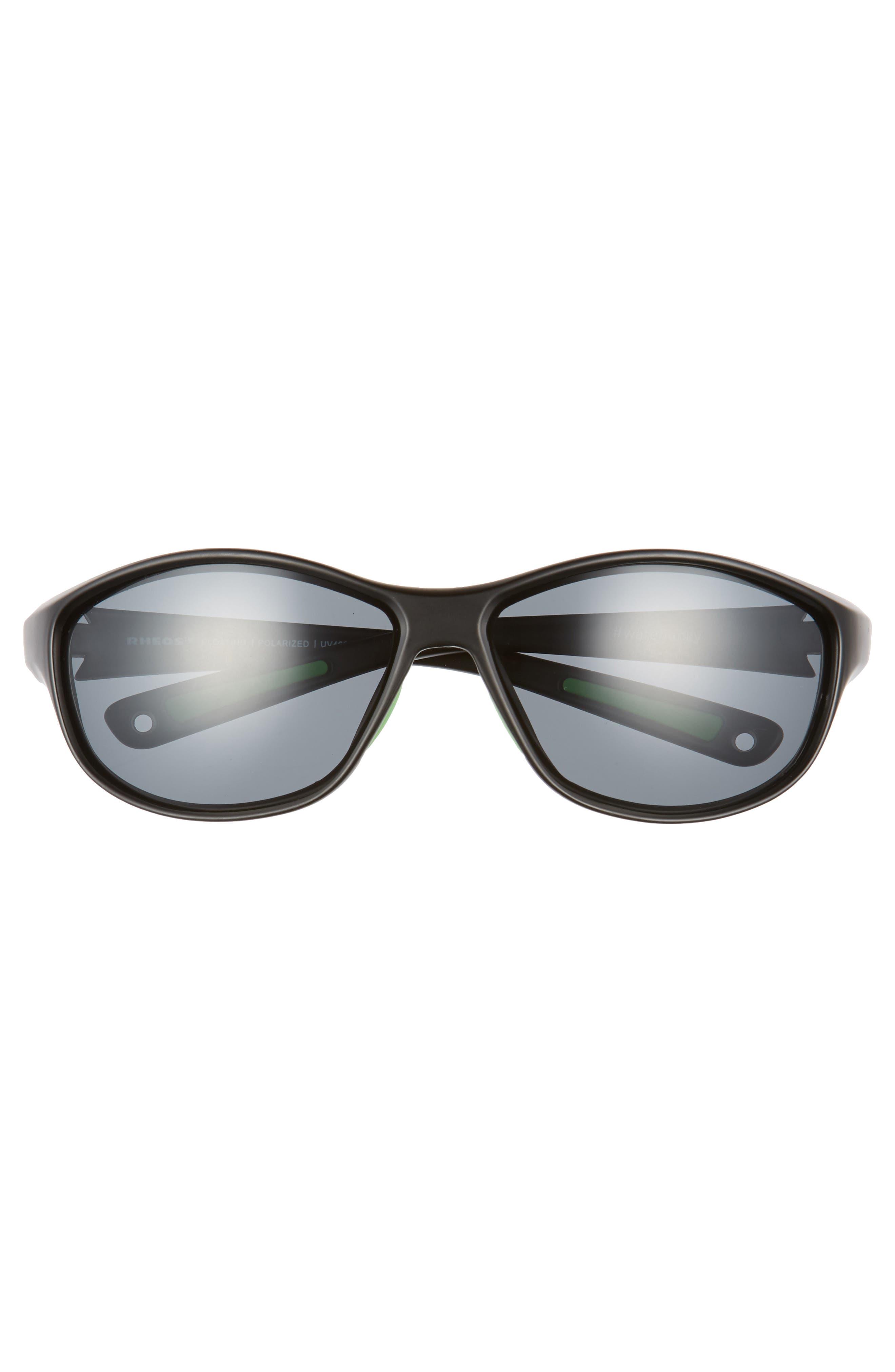 Bahias Floating 60mm Polarized Sunglasses,                             Alternate thumbnail 2, color,                             GUNMETAL / GUNMETAL