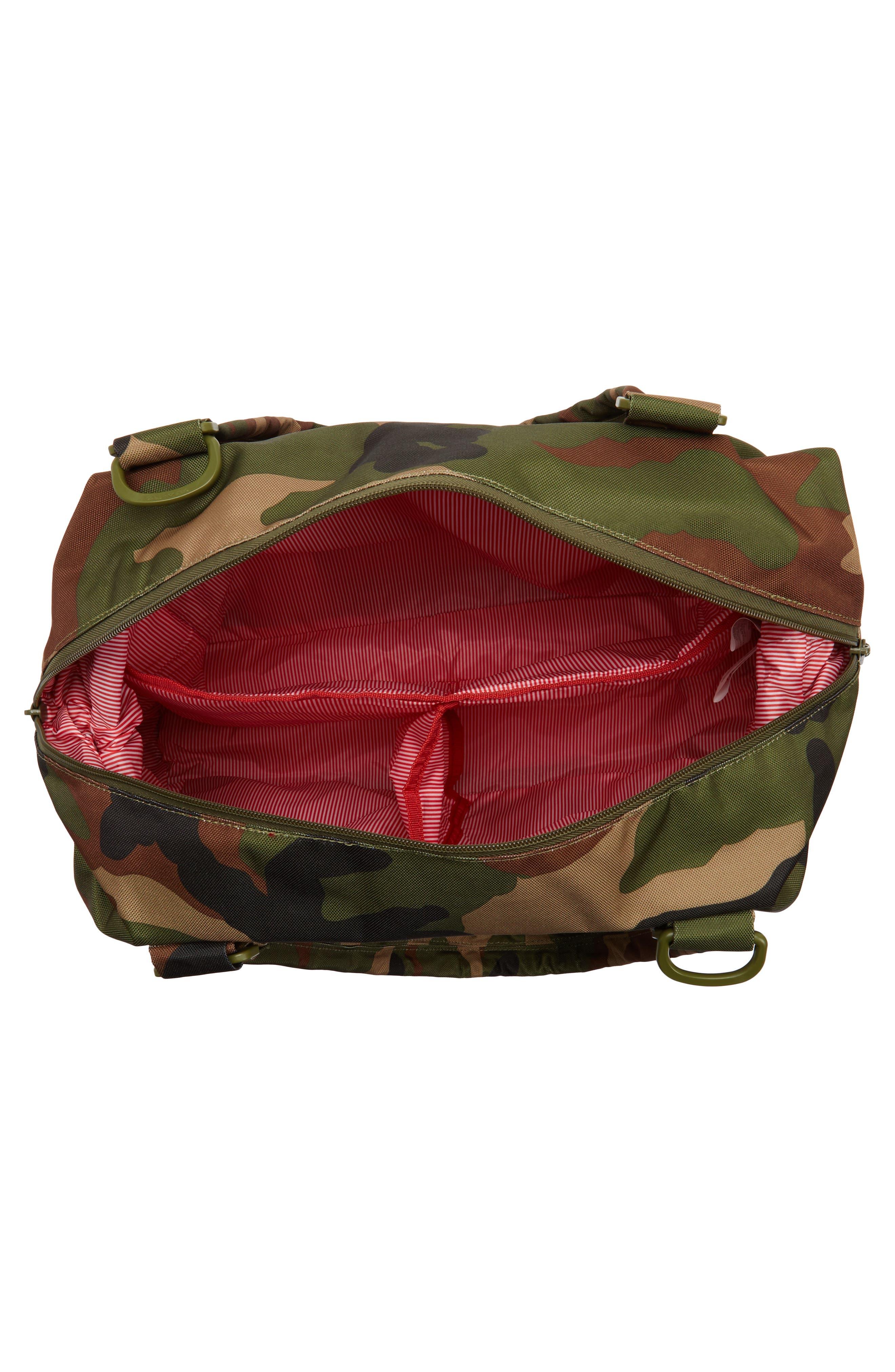 Sprout Diaper Bag,                             Alternate thumbnail 4, color,                             WOODLAND CAMO