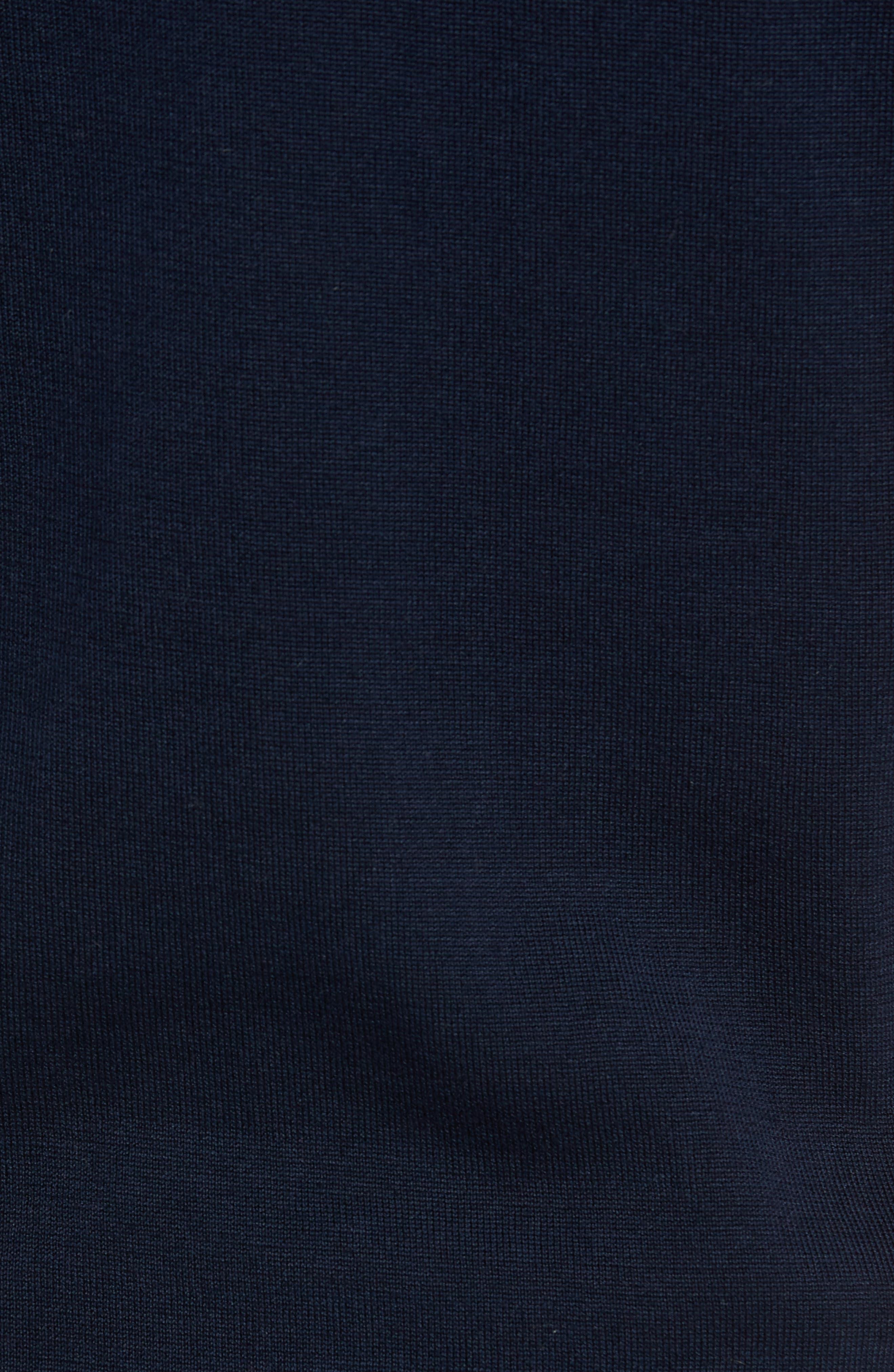 Trim Fit Stripe Polo,                             Alternate thumbnail 5, color,                             022