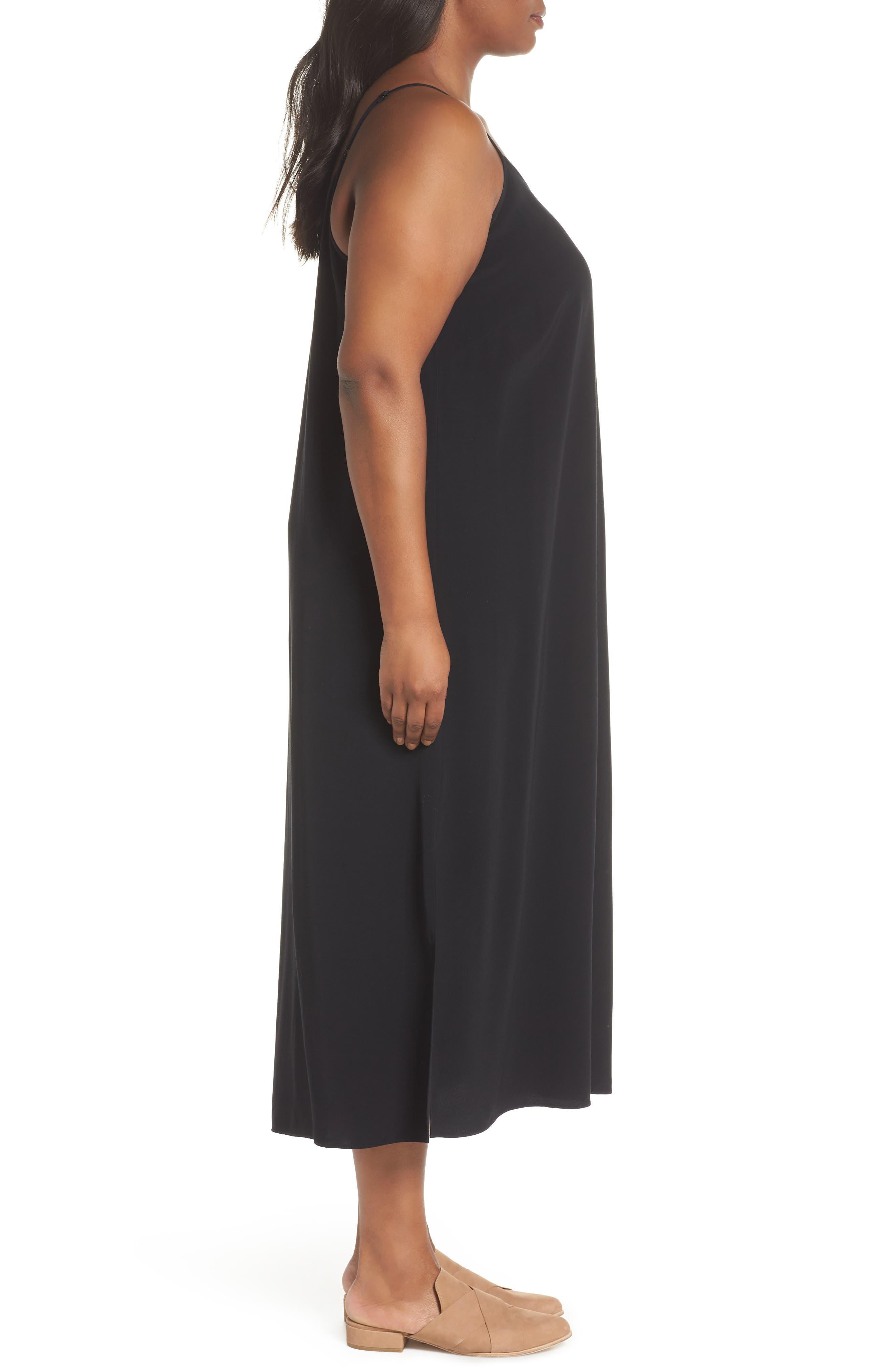 Cami Dress,                             Alternate thumbnail 3, color,                             001