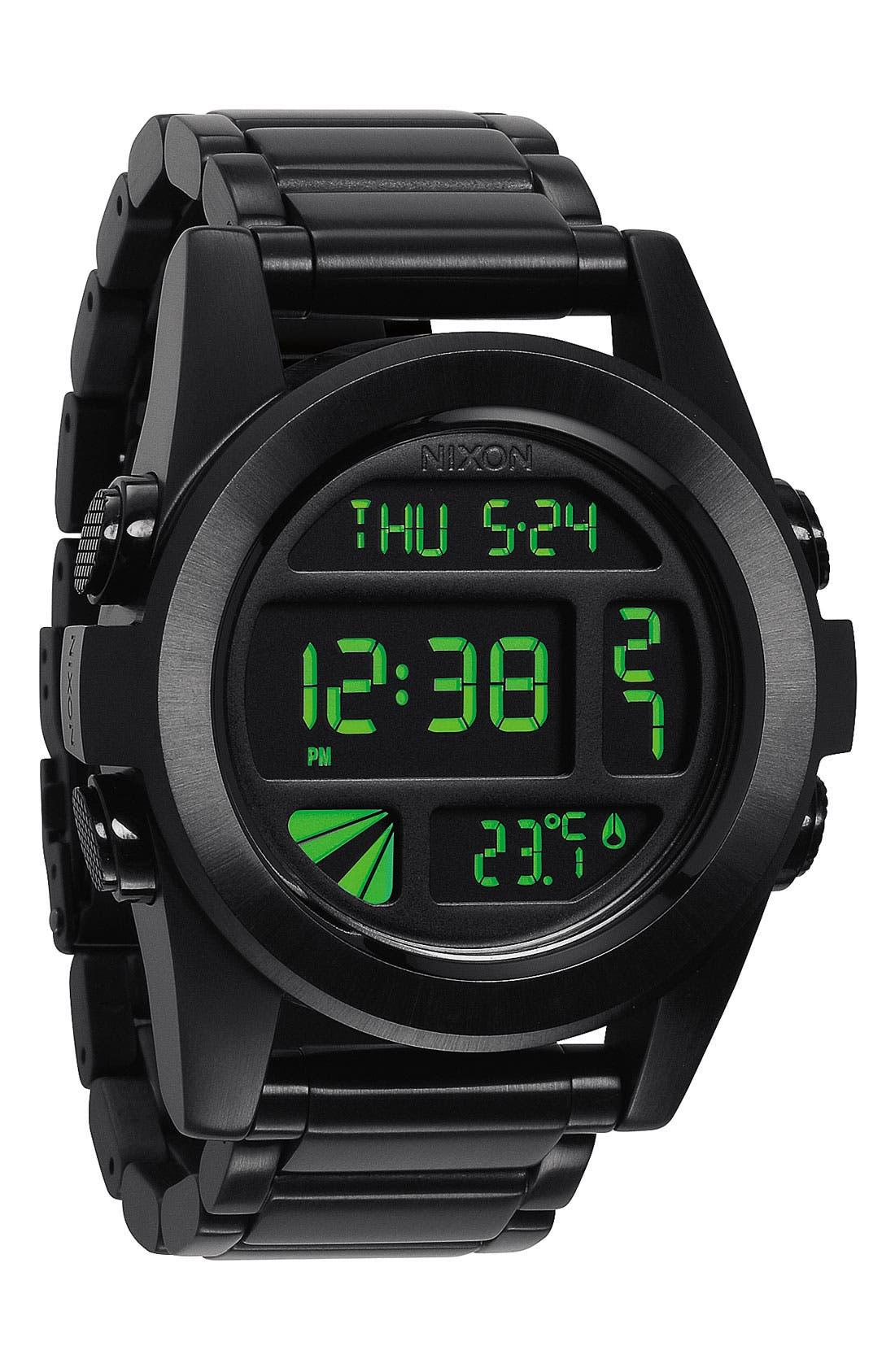 'The Unit' Bracelet Watch, 50mm,                             Main thumbnail 1, color,                             001