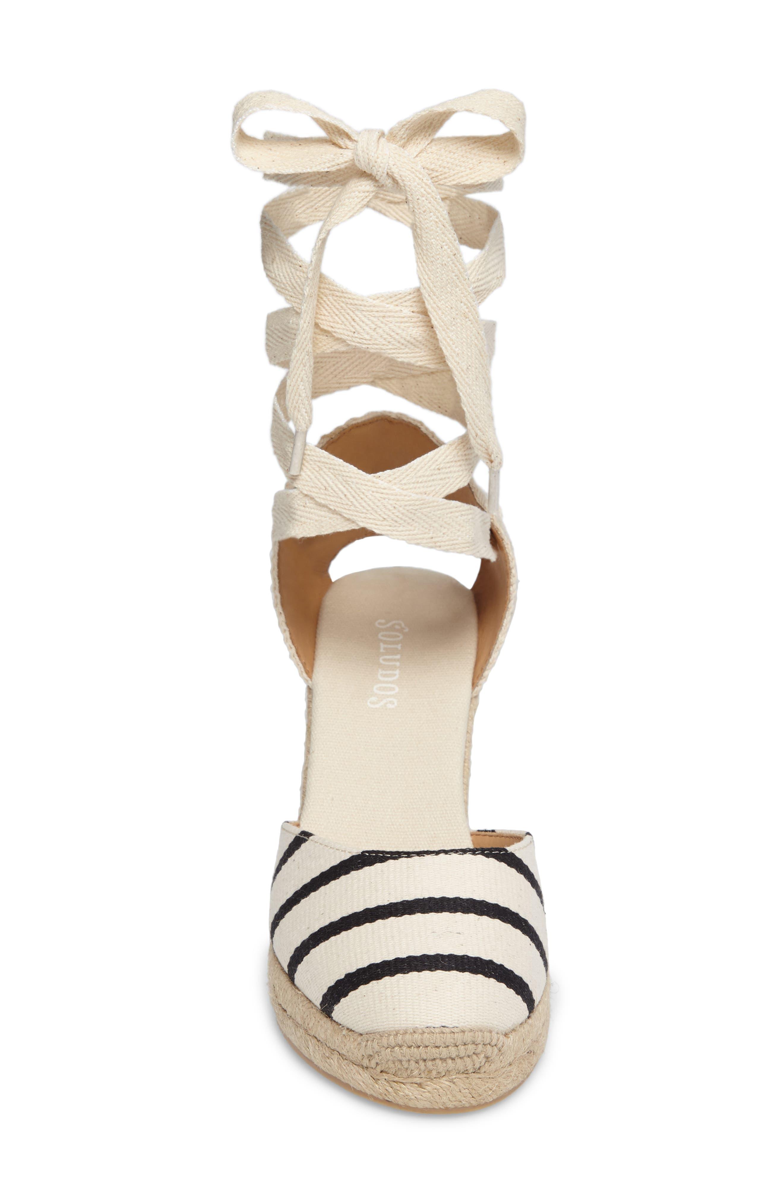 Wedge Sandal,                             Alternate thumbnail 4, color,                             004
