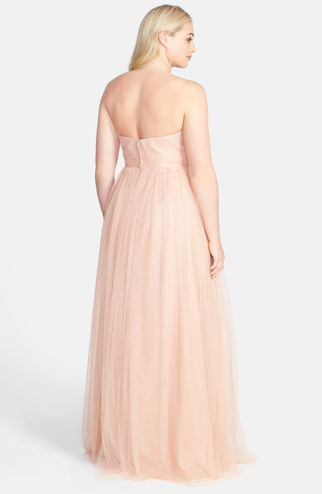 Annabelle Convertible Tulle Column Dress,                             Alternate thumbnail 193, color,