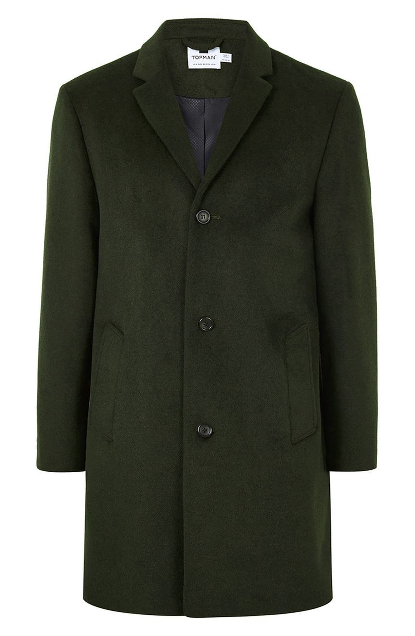 Khaki Overcoat,                             Alternate thumbnail 4, color,