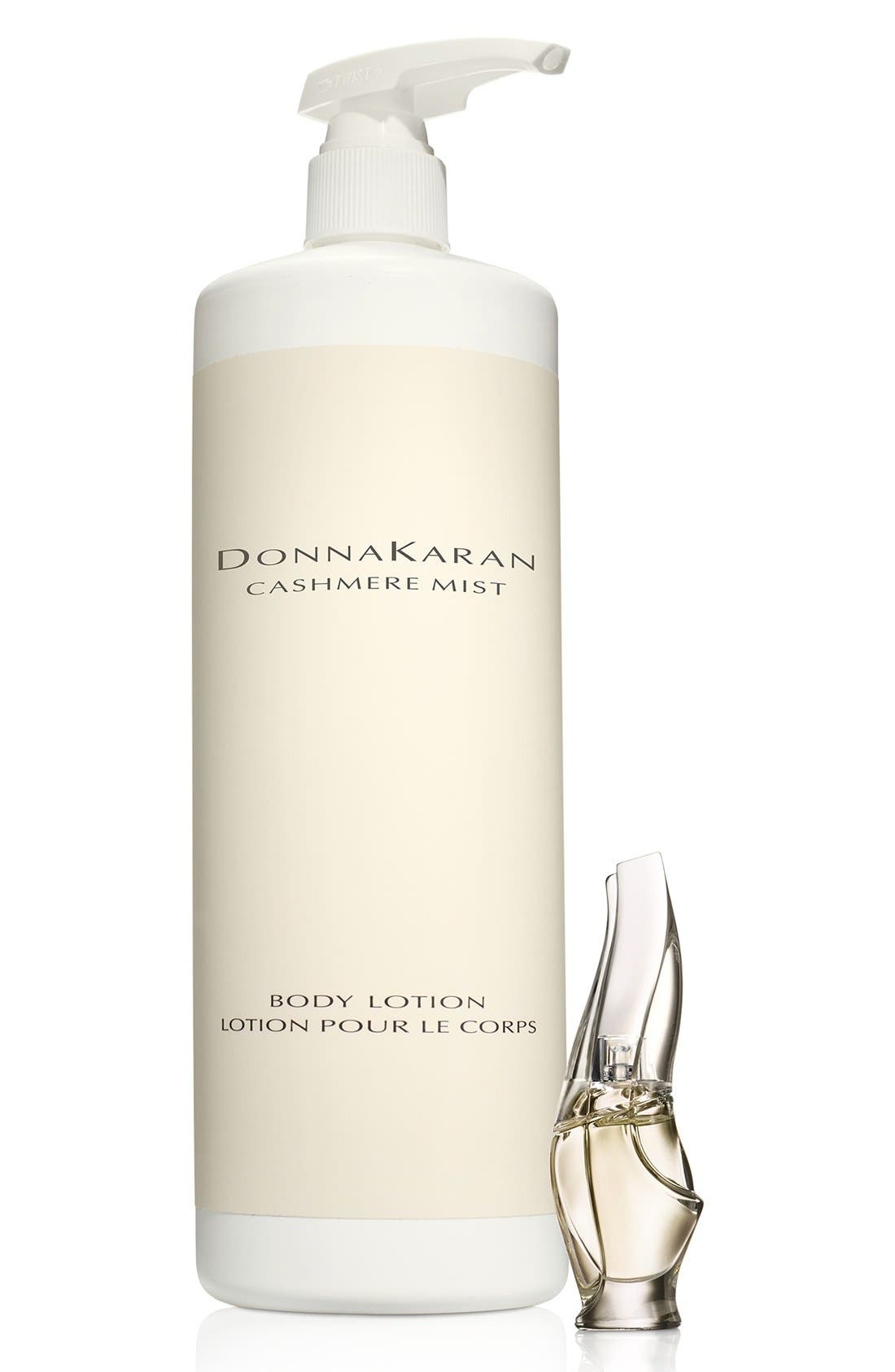 Donna Karan Cashmere Mist Body Lotion & Fragrance Duo,                             Main thumbnail 1, color,                             000