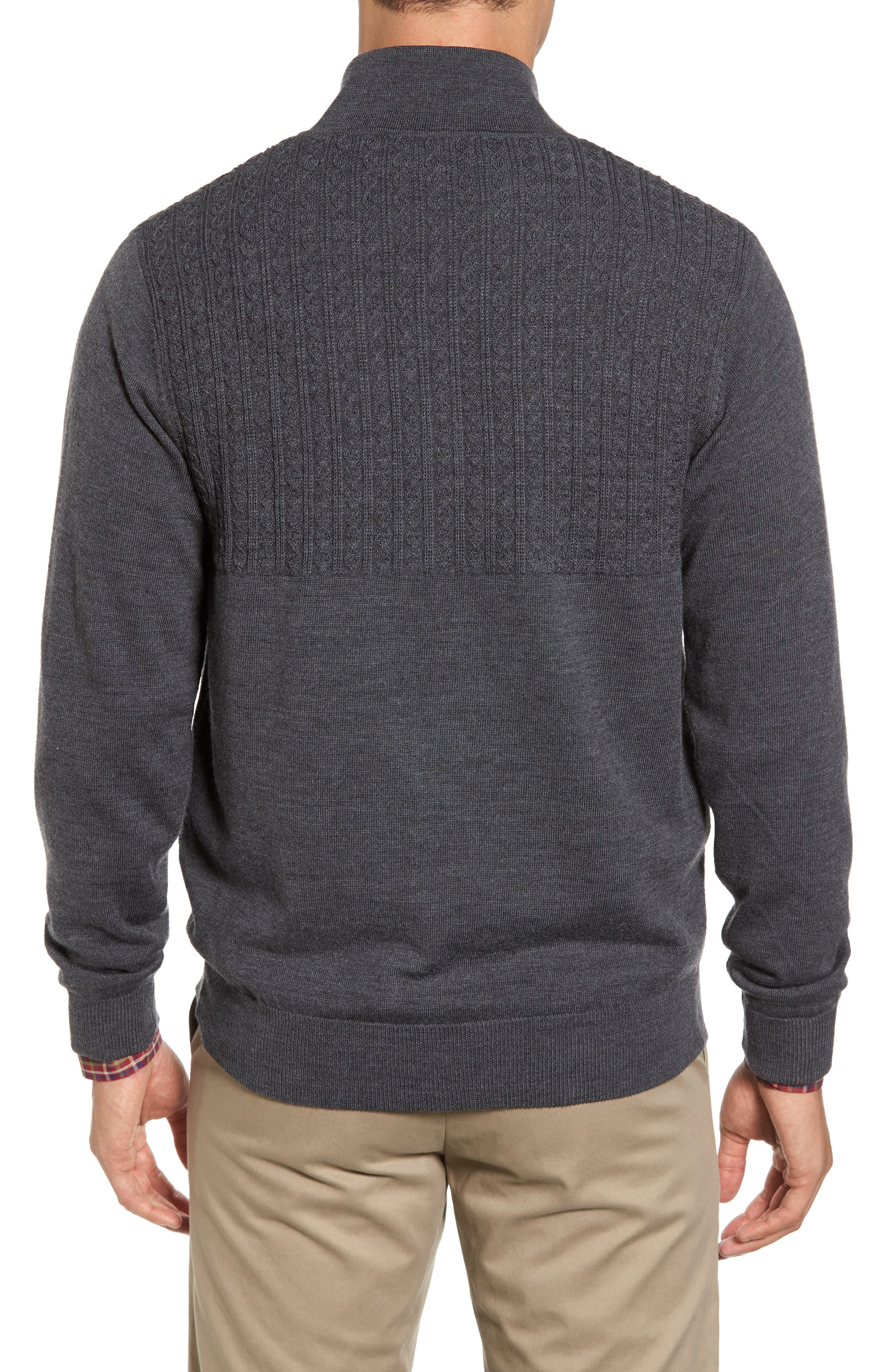 Cable Wind Wool Sweater,                             Alternate thumbnail 2, color,                             020