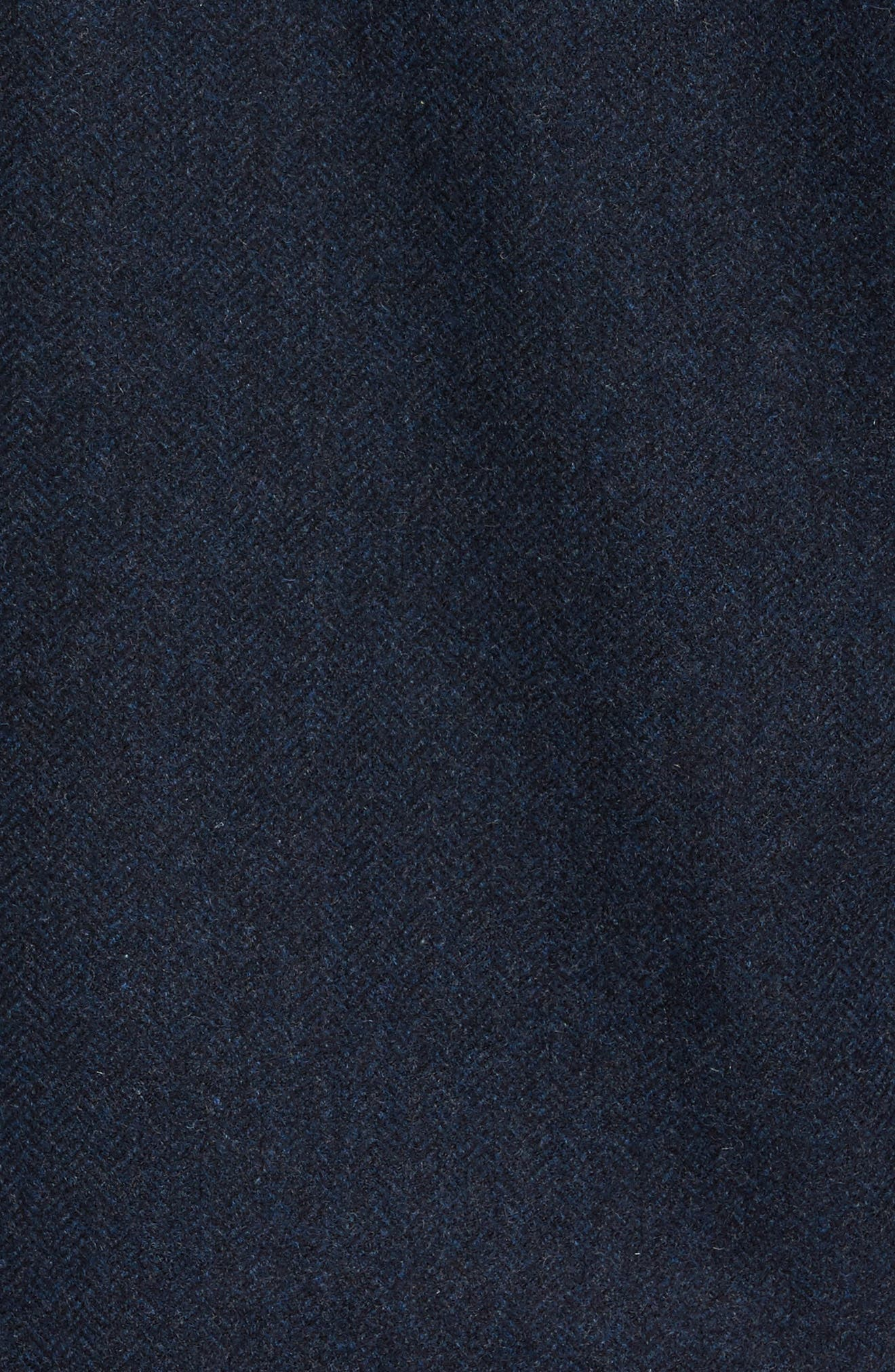 Creek Herringbone Wool Shirt Jacket,                             Alternate thumbnail 6, color,
