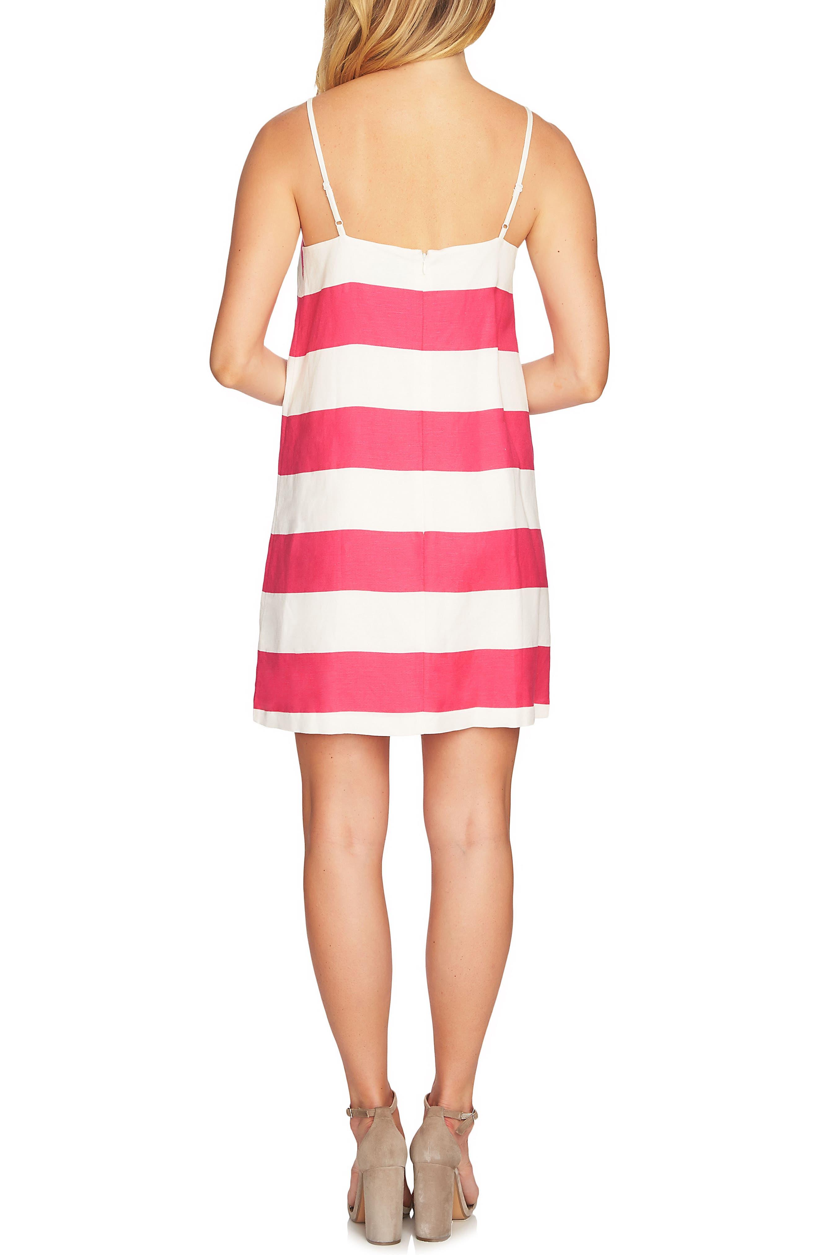 Carnival Stripe Dress,                             Alternate thumbnail 6, color,