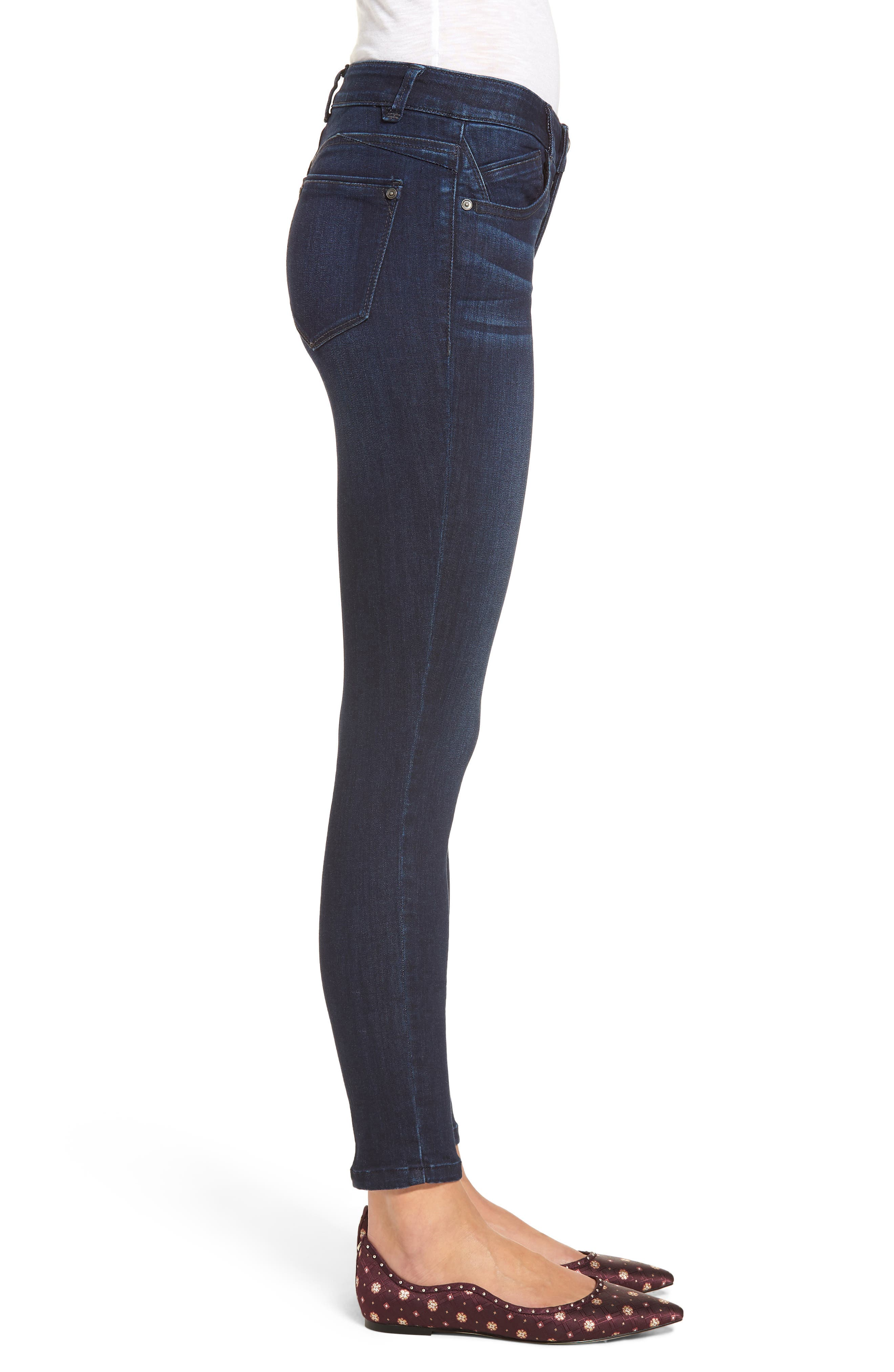 Ab-solution Skinny Jeans,                             Alternate thumbnail 3, color,                             402
