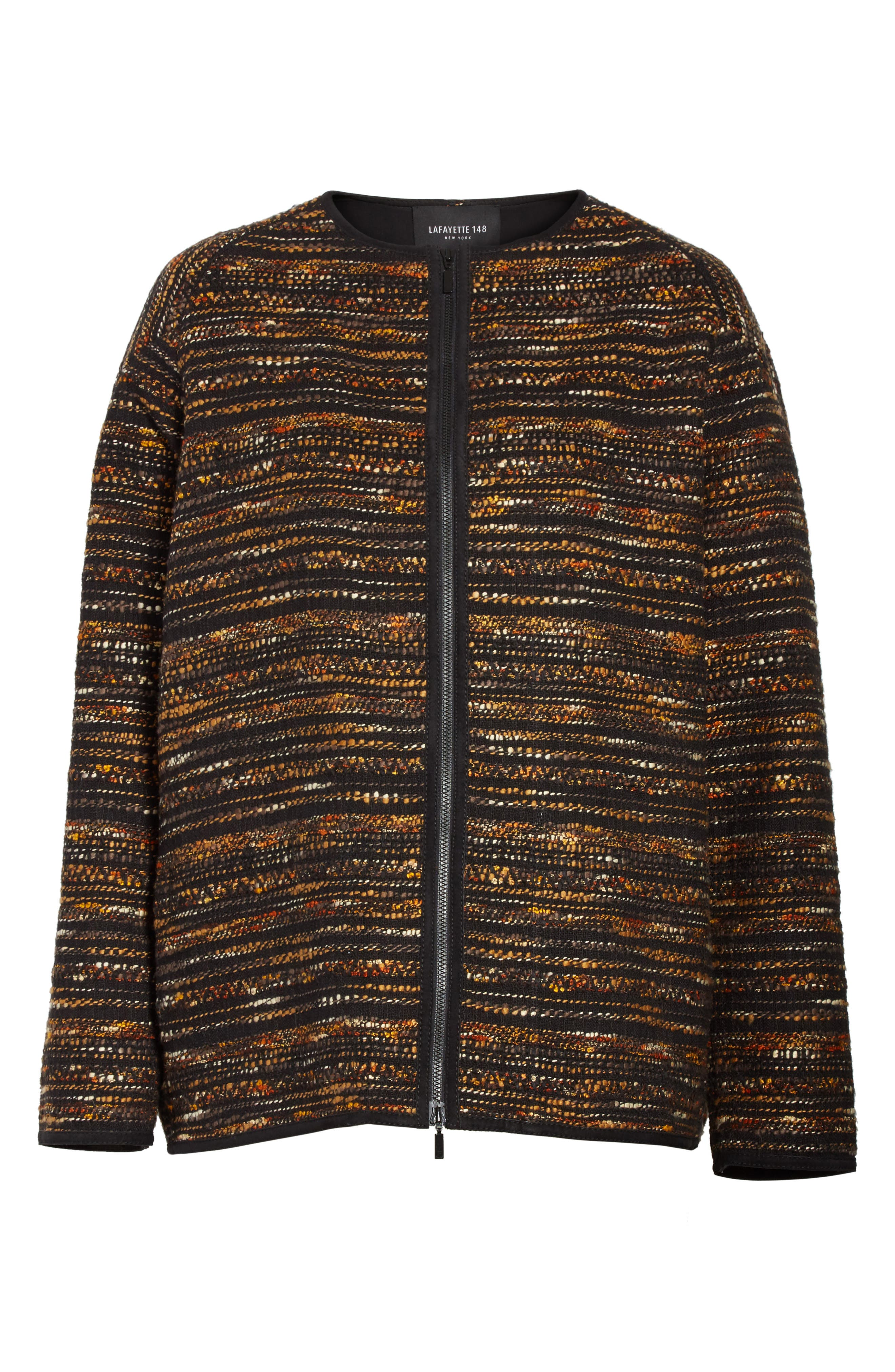 Alexa Tweed Jacket,                             Alternate thumbnail 5, color,