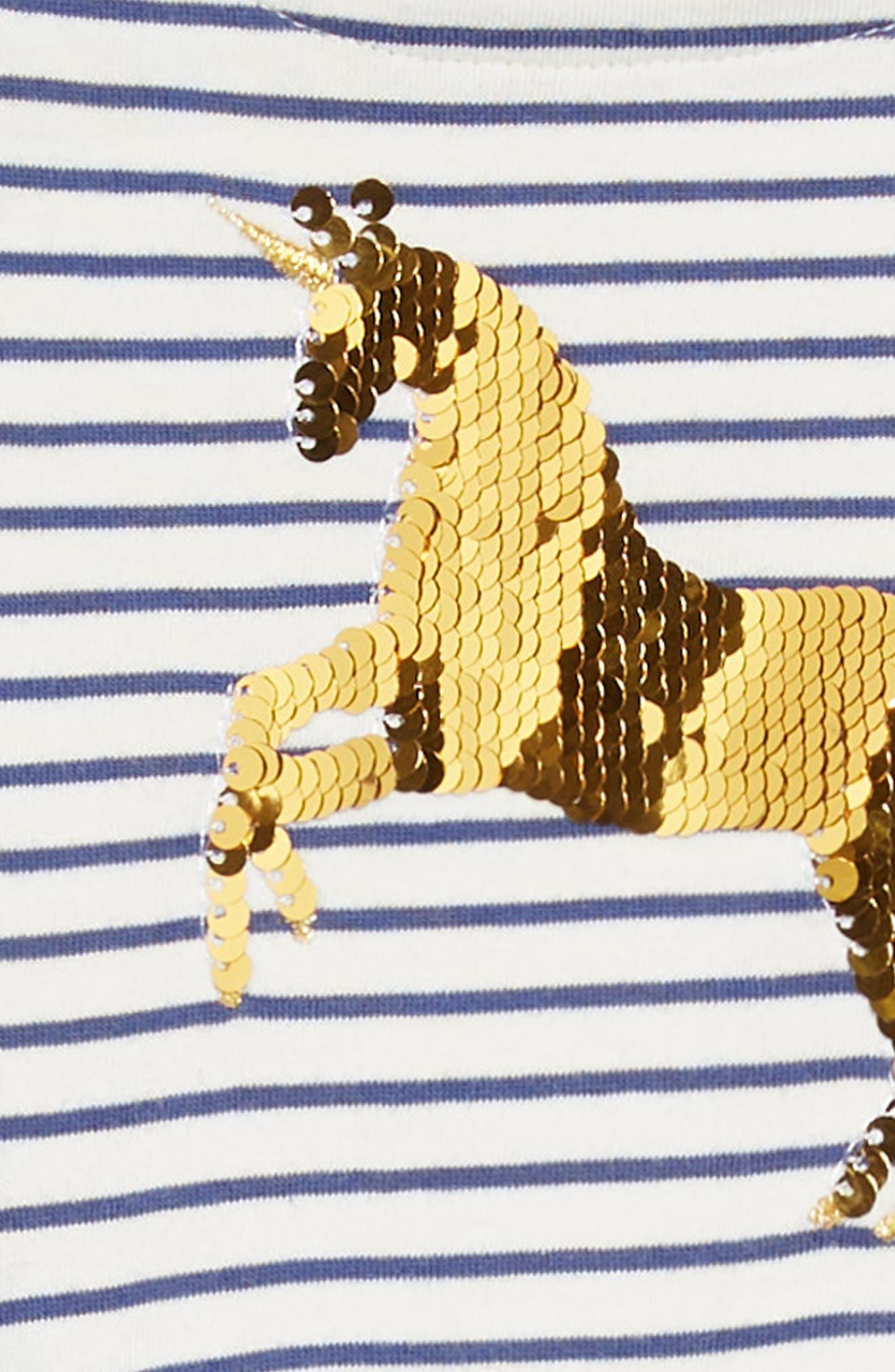 Color Change Sequin Unicorn Dress,                             Alternate thumbnail 4, color,                             414
