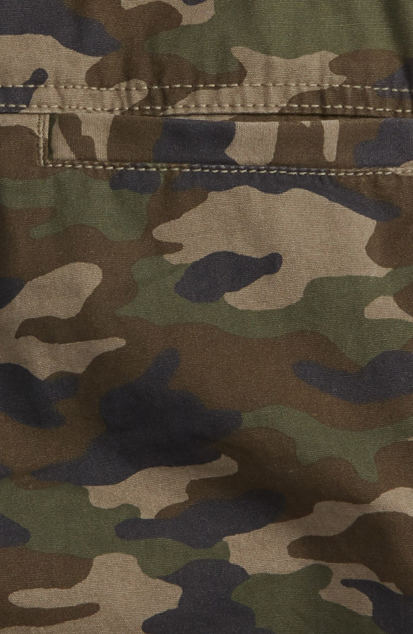 Camo Cargo Shorts,                             Alternate thumbnail 3, color,                             318