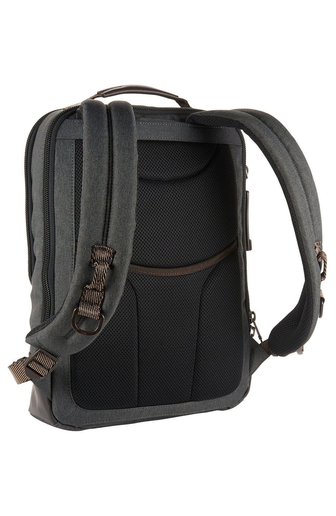 TUMI,                             Alpha Bravo Dover Backpack,                             Alternate thumbnail 2, color,                             010