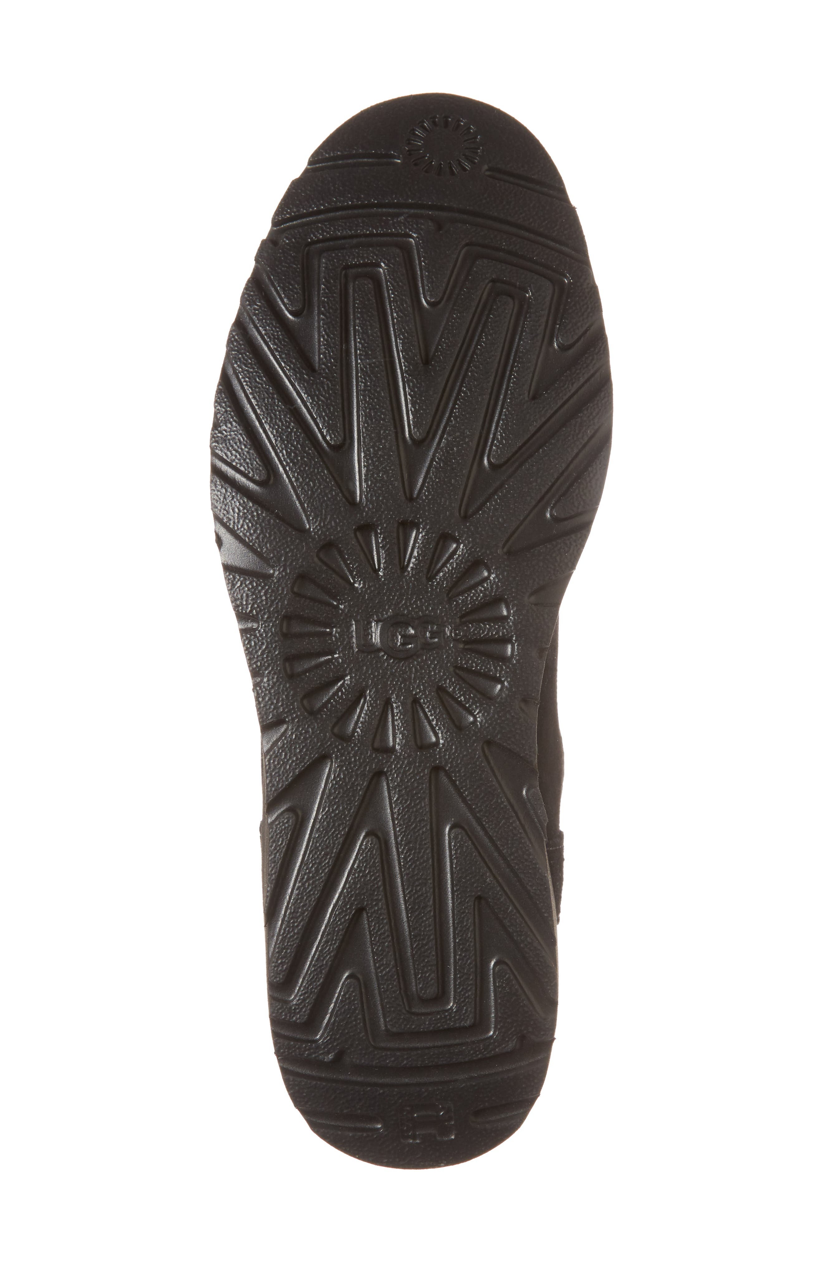 Madison Grommet Wedge Boot,                             Alternate thumbnail 6, color,                             001