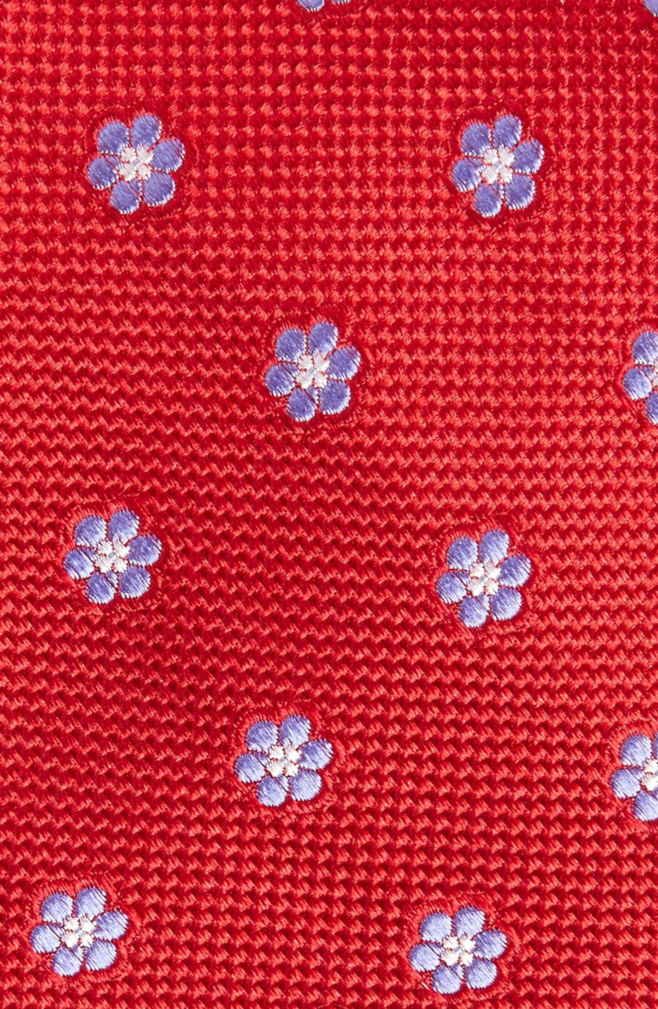 Calibrate Cloisters Neat Silk Tie,                             Alternate thumbnail 14, color,