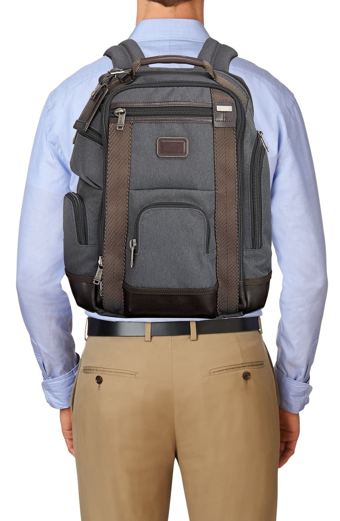 Alpha Bravo Shaw Deluxe Backpack,                             Alternate thumbnail 6, color,