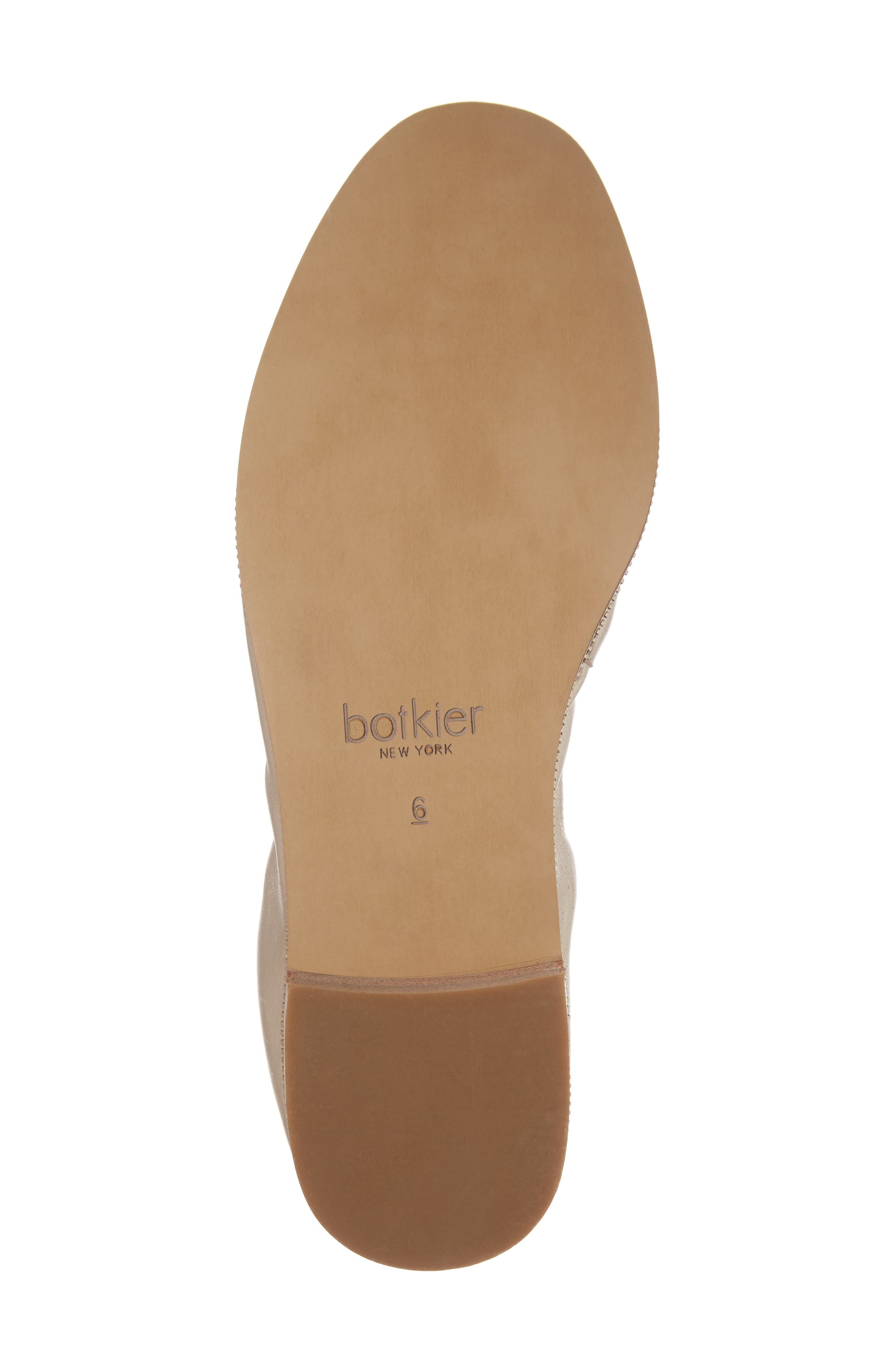 Mason Ballet Flat,                             Alternate thumbnail 6, color,                             GOLD METALLIC NAPPA LEATHER