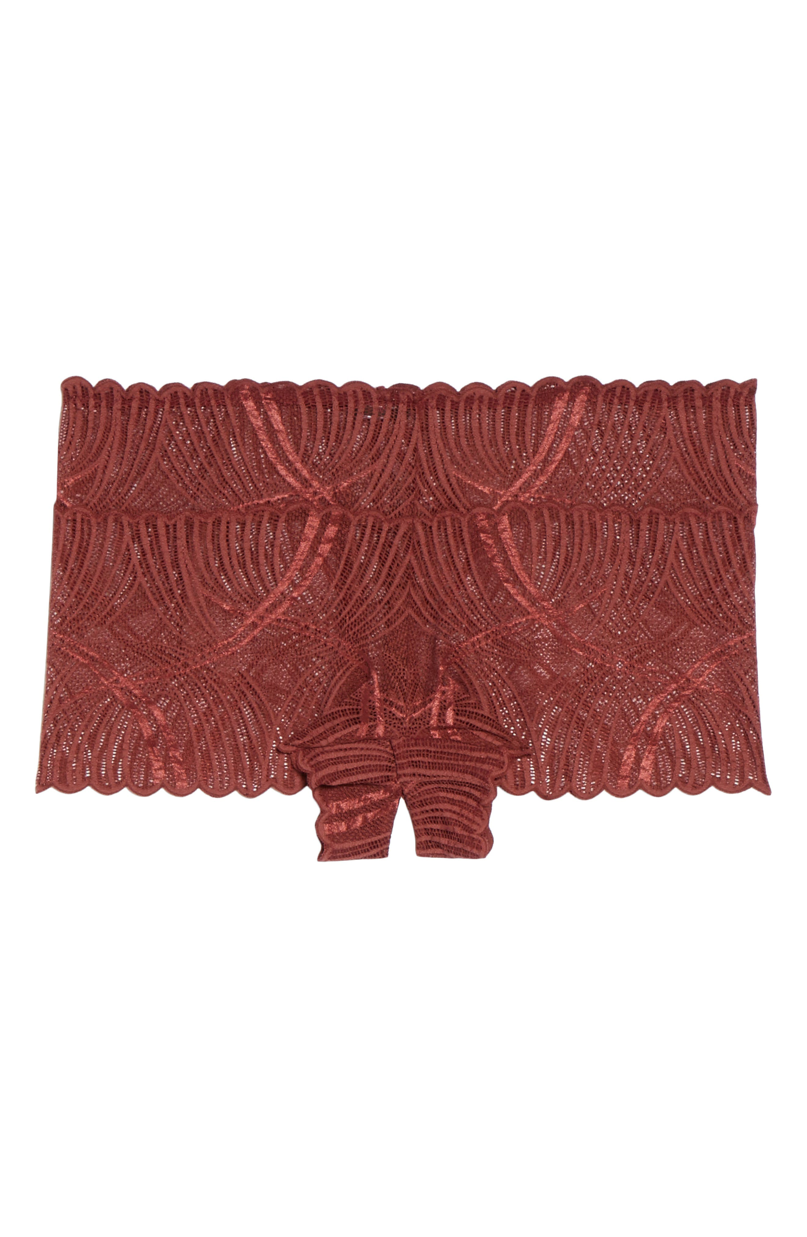 Minoa Naughtie Open Gusset Boyshorts,                             Alternate thumbnail 22, color,