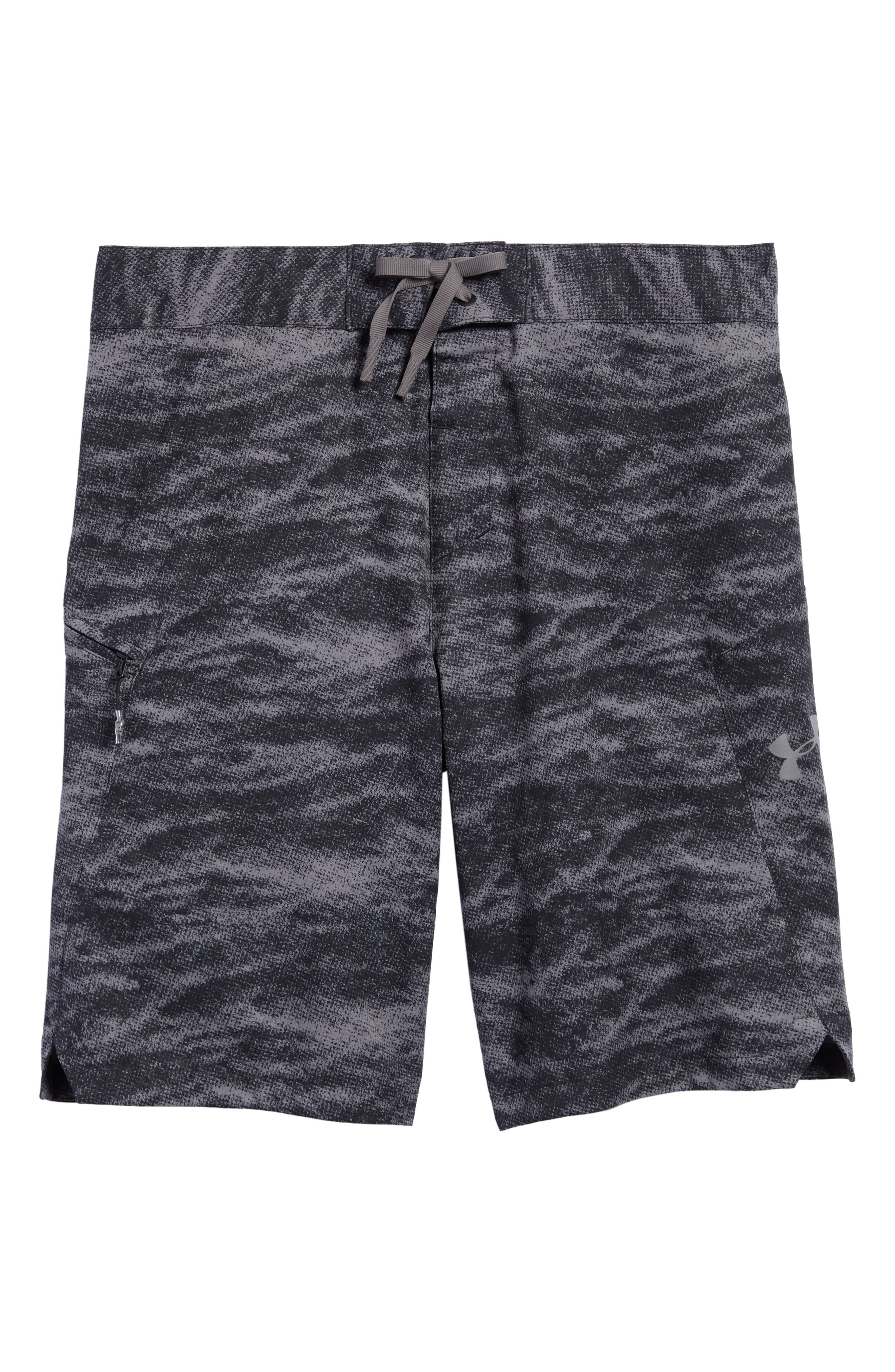 UNDER ARMOUR,                             Print Board Shorts,                             Alternate thumbnail 6, color,                             004