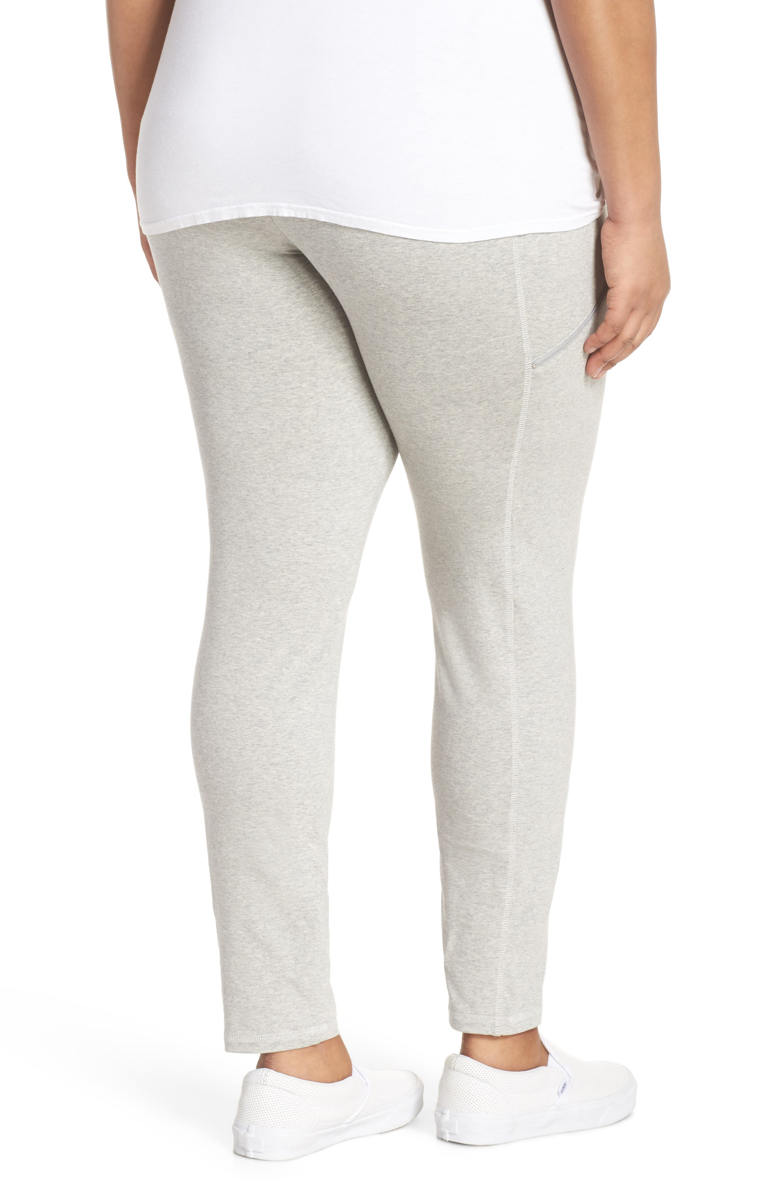 Stretch Organic Cotton Skinny Pants,                             Alternate thumbnail 2, color,                             020