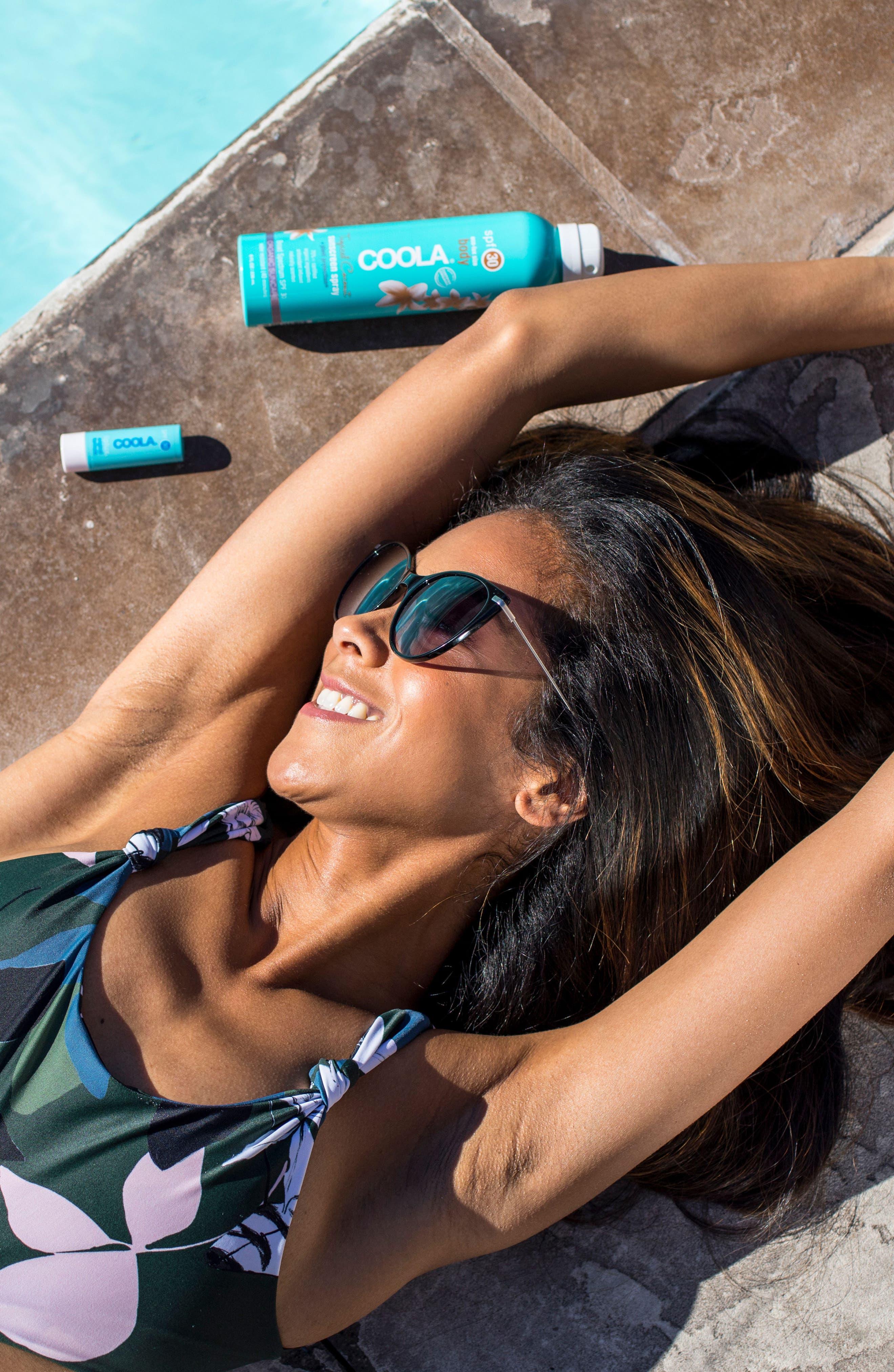 COOLA<sup>®</sup> Suncare Sport Sunscreen Spray Broad Spectrum SPF 30,                             Alternate thumbnail 3, color,                             UNSCENTED