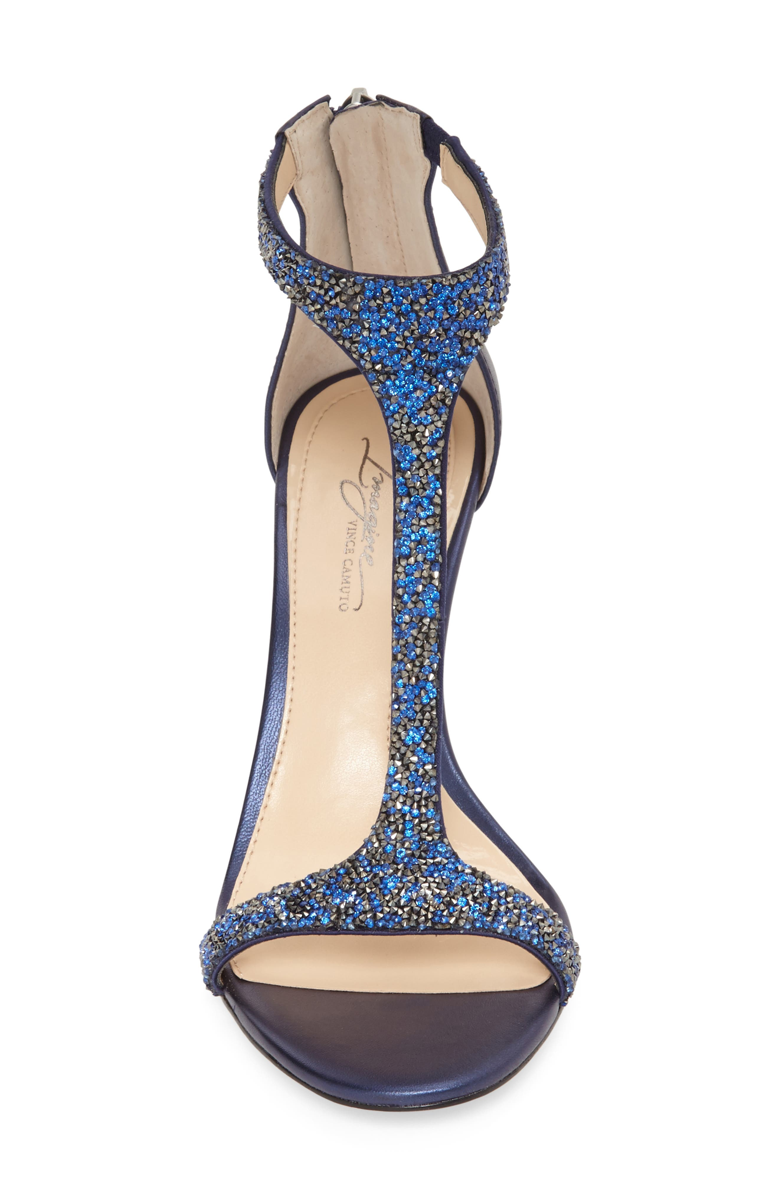 'Phoebe' Embellished T-Strap Sandal,                             Alternate thumbnail 58, color,