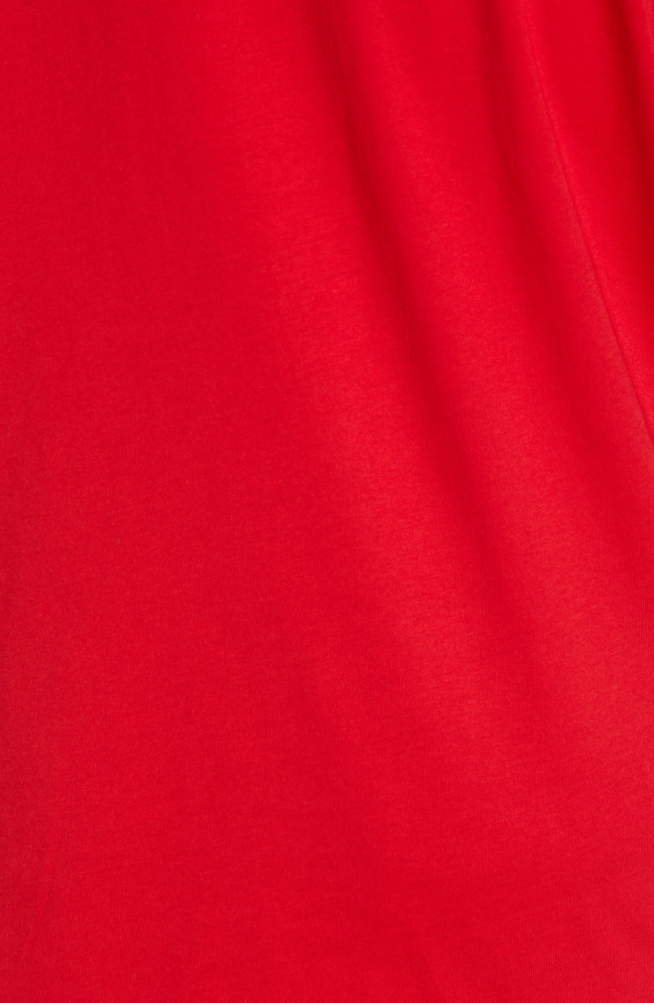 BOSS,                             CNY Regular Fit T-Shirt,                             Alternate thumbnail 5, color,                             RED