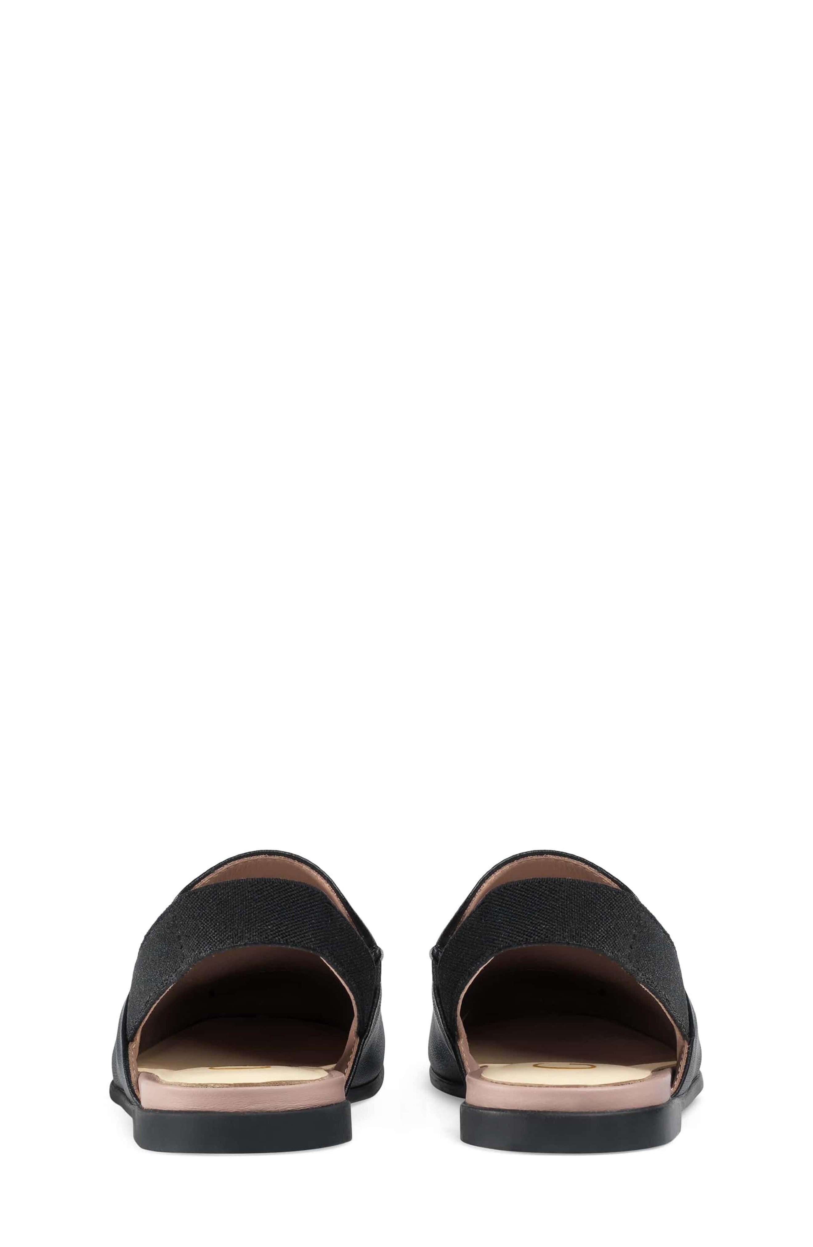 Princetown Loafer Mule,                             Alternate thumbnail 8, color,                             BLACK/ BLACK