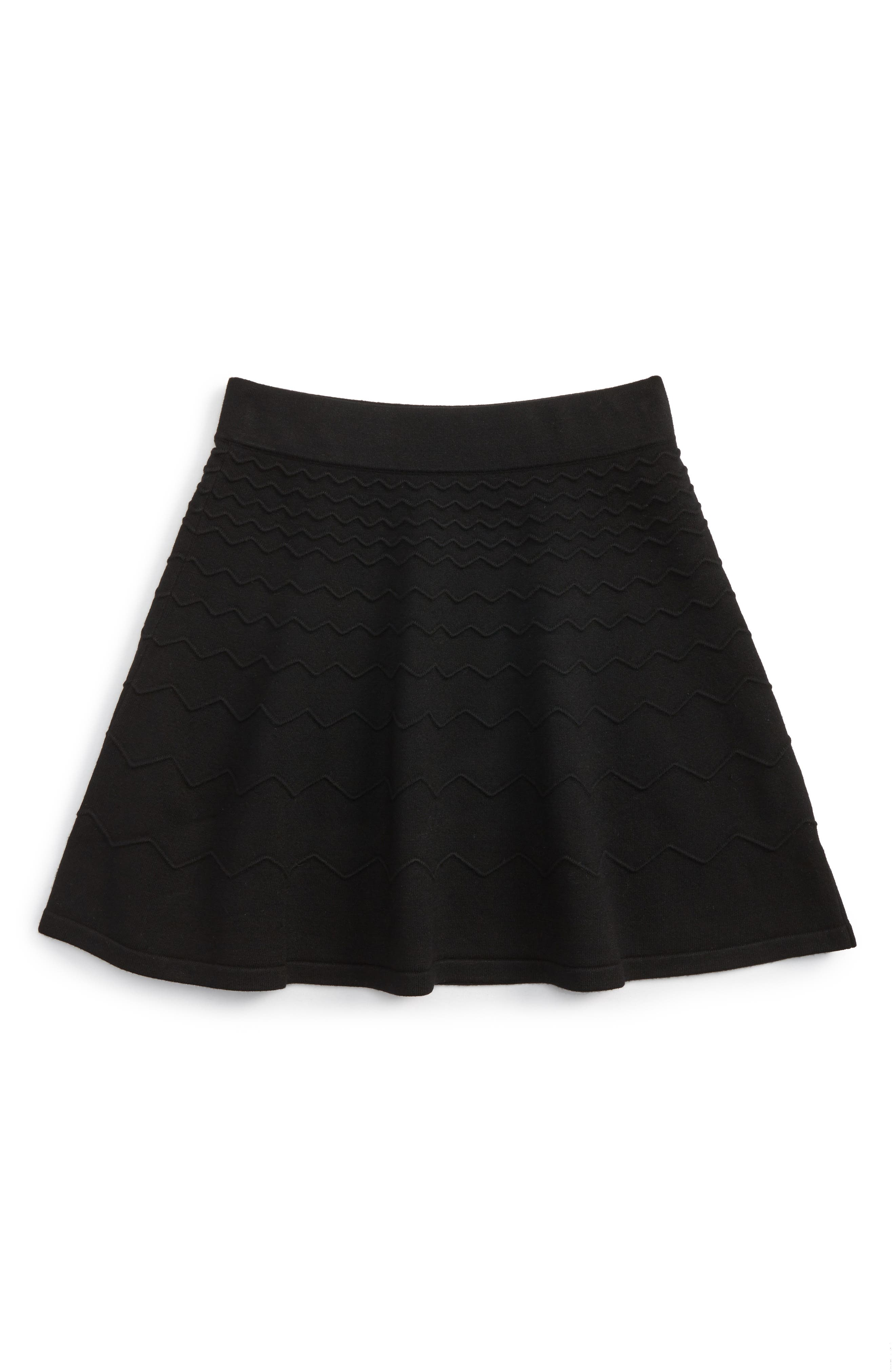 Chevron Skirt,                         Main,                         color, 001