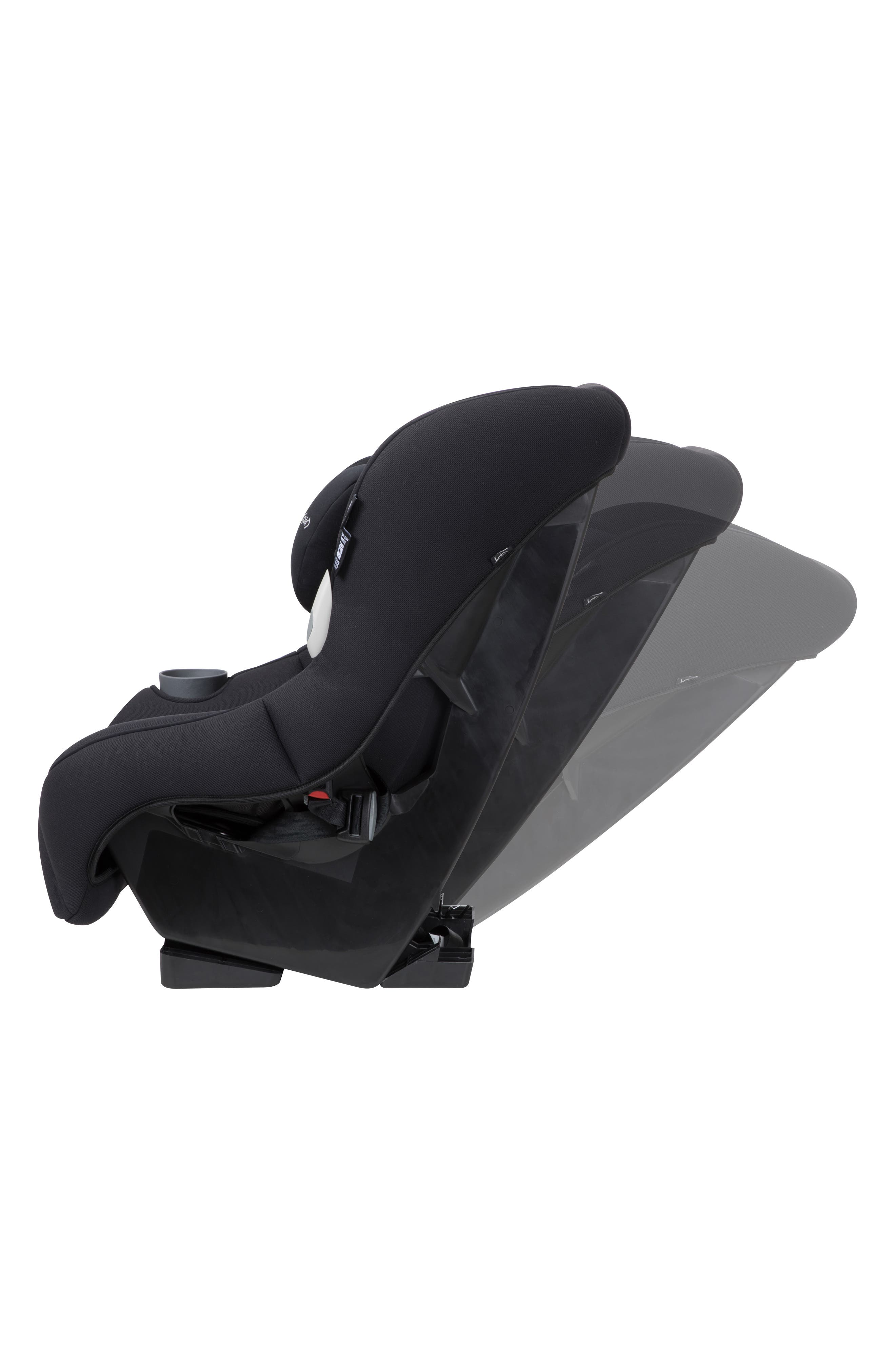 Pria<sup>™</sup> 85 2.0 Convertible Car Seat,                             Alternate thumbnail 4, color,                             NIGHT BLACK