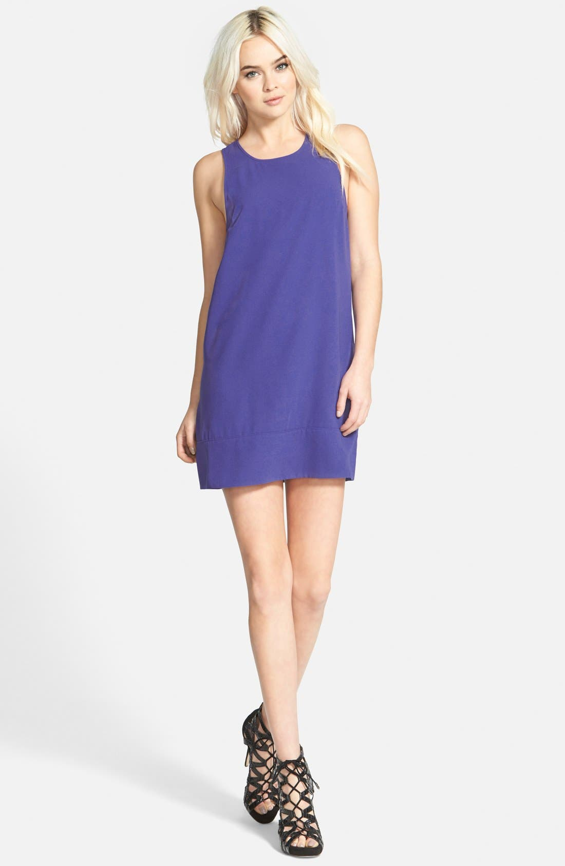 Racerback Shift Dress,                             Main thumbnail 28, color,