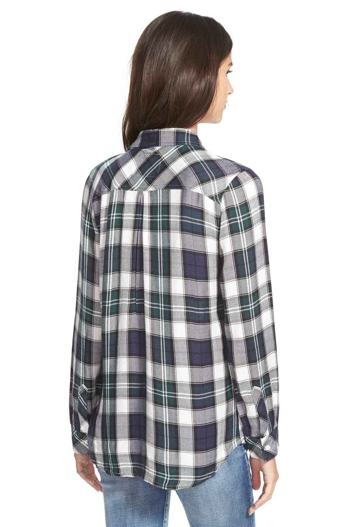 'Hunter' Plaid Shirt,                             Alternate thumbnail 3, color,                             300