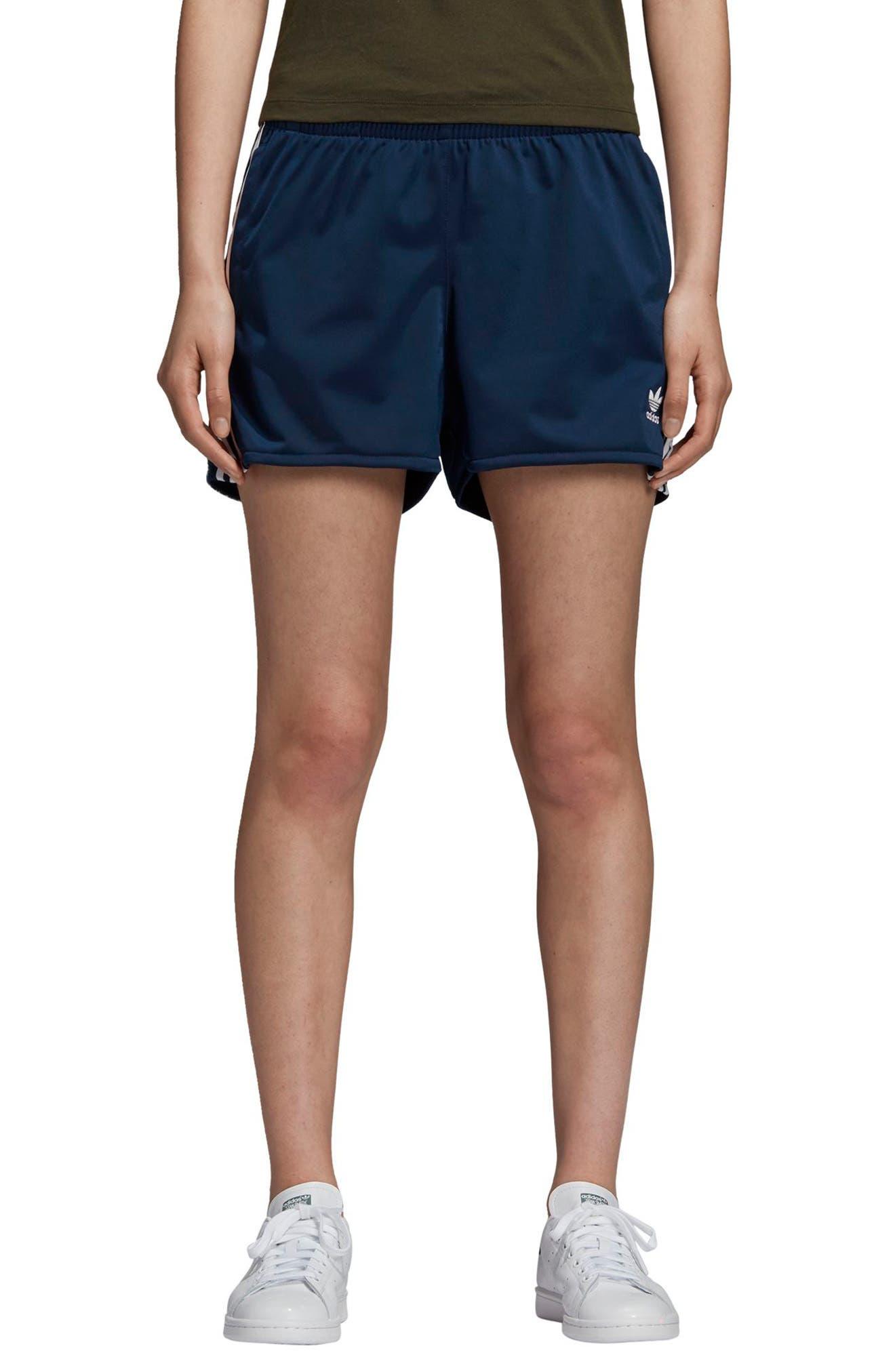 3-Stripes Shorts,                         Main,                         color, COLLEGIATE NAVY