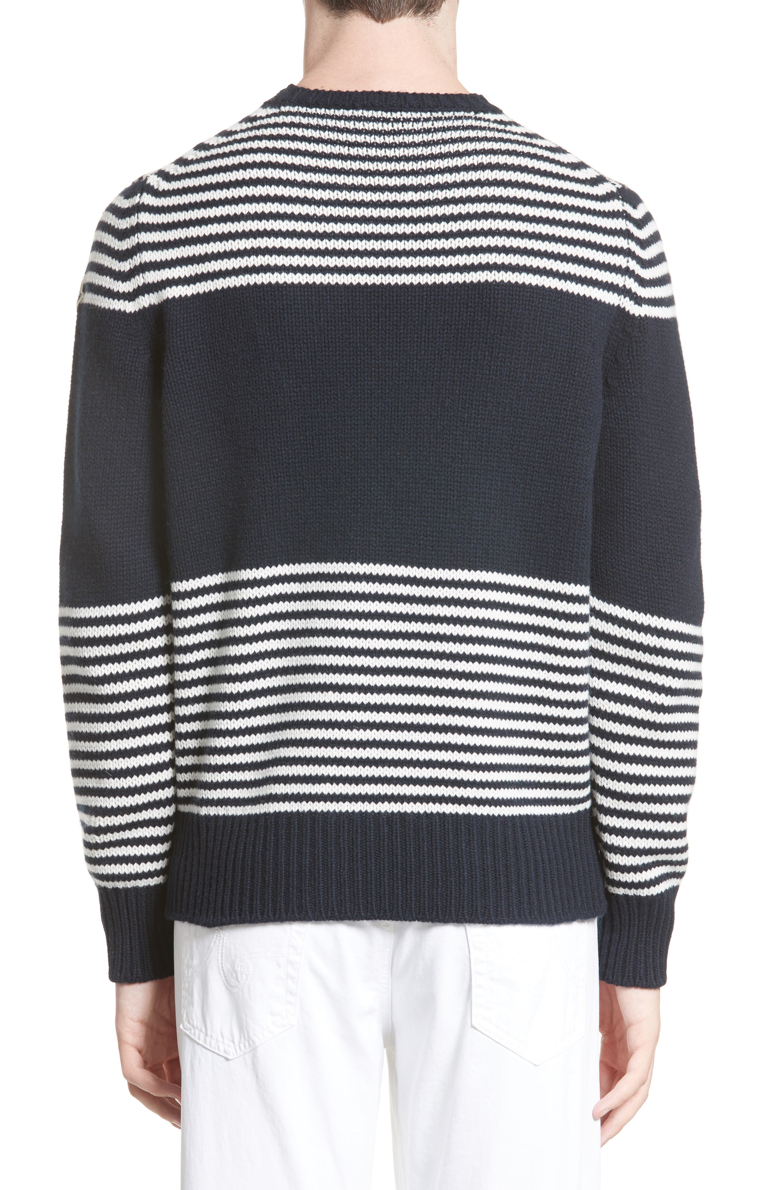 Maglione Stripe Wool & Cashmere Sweater,                             Alternate thumbnail 2, color,                             419