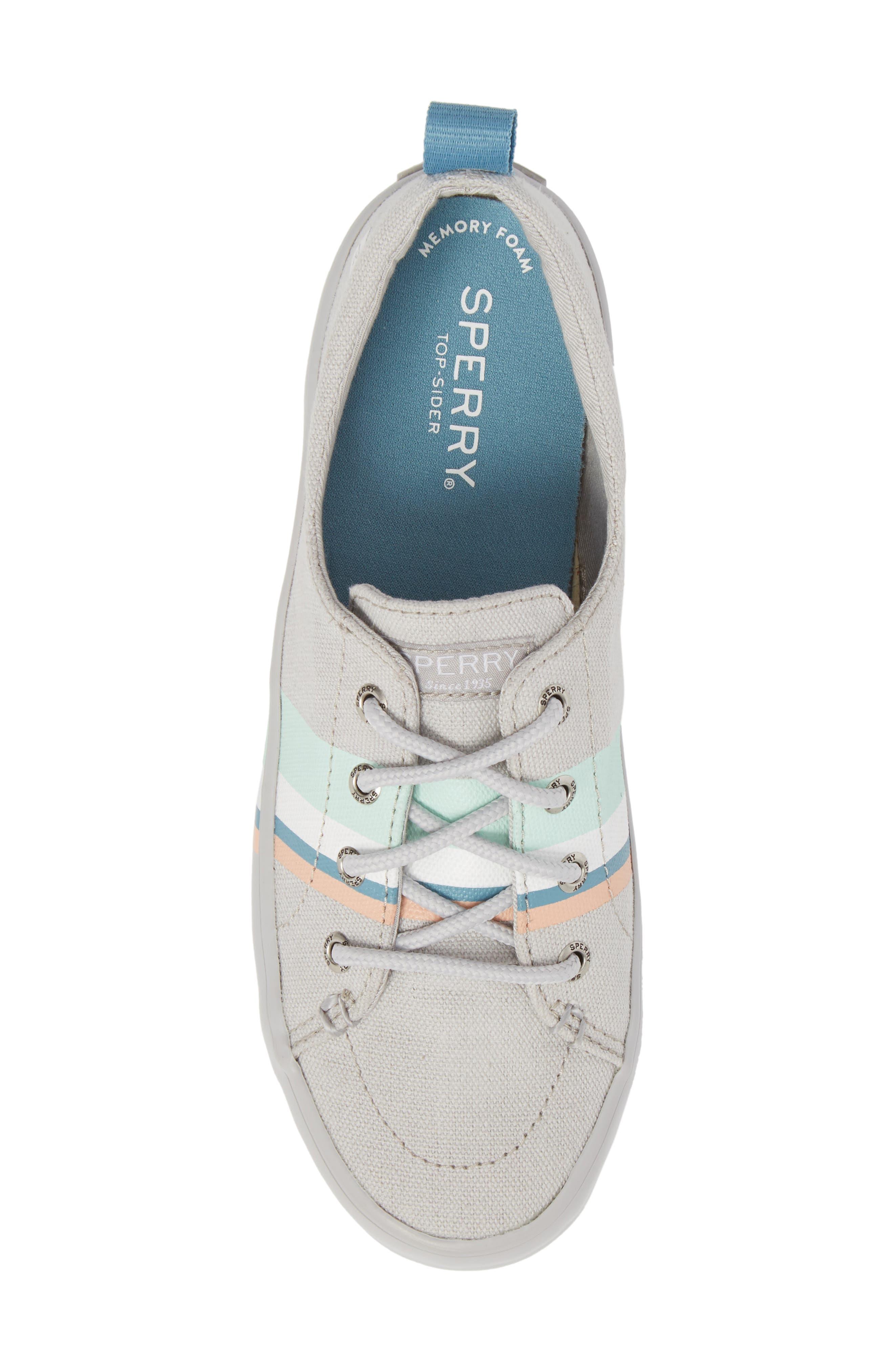 Crest Vibe Slip-On Sneaker,                             Alternate thumbnail 5, color,                             050