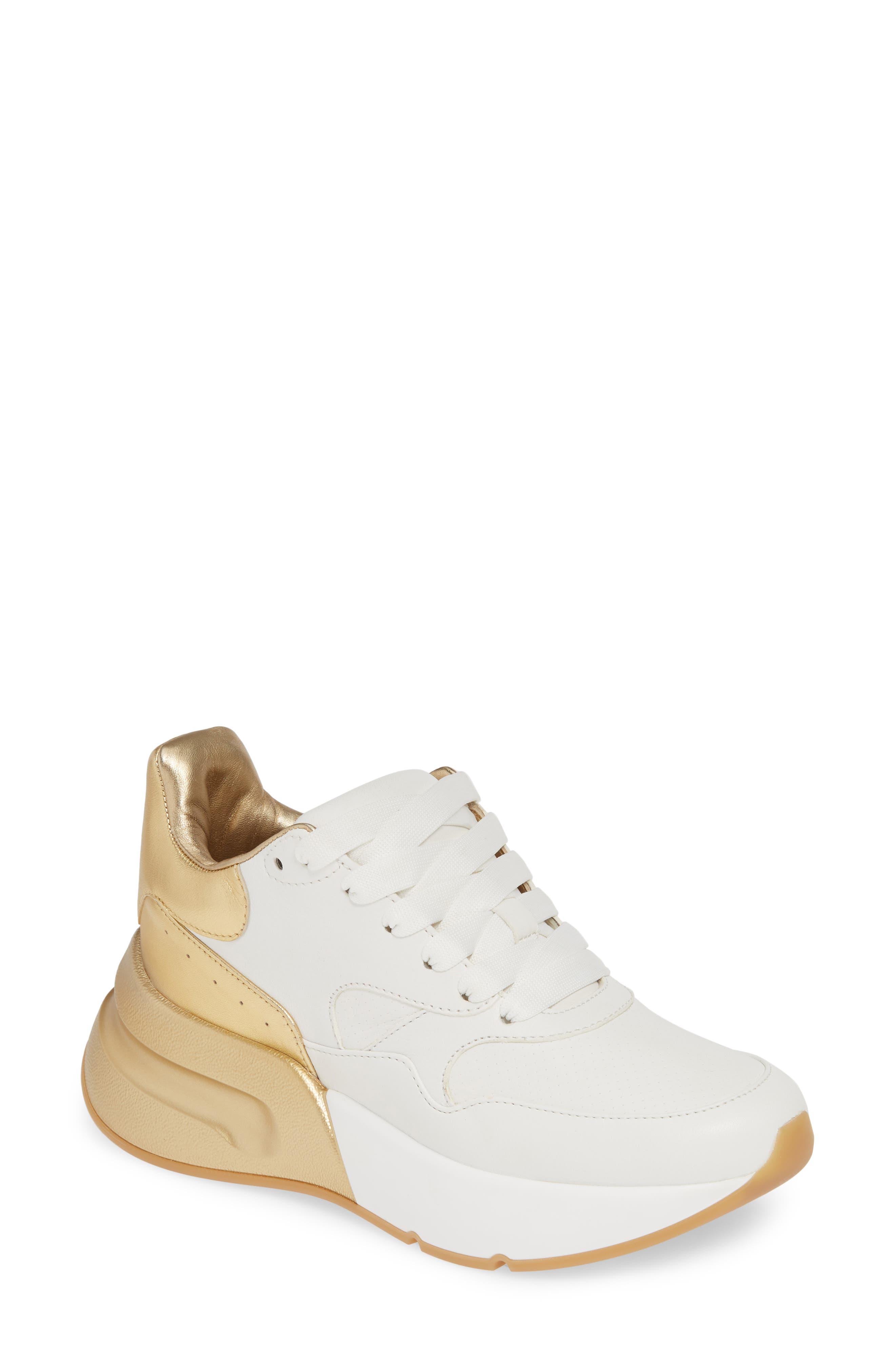 Alexander Mcqueen Platform Sneaker, White