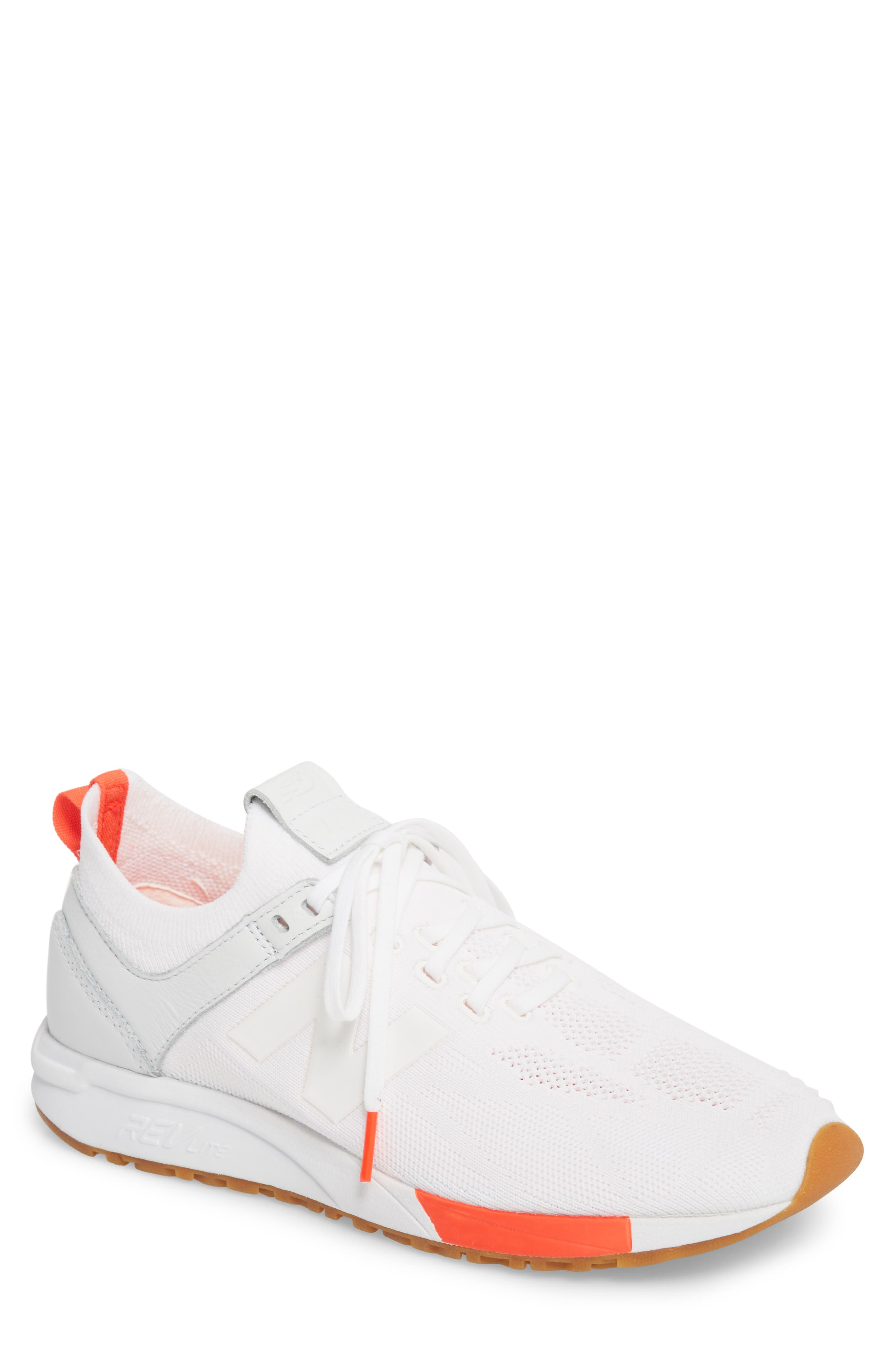 247 Sneaker,                             Main thumbnail 1, color,                             WHITE