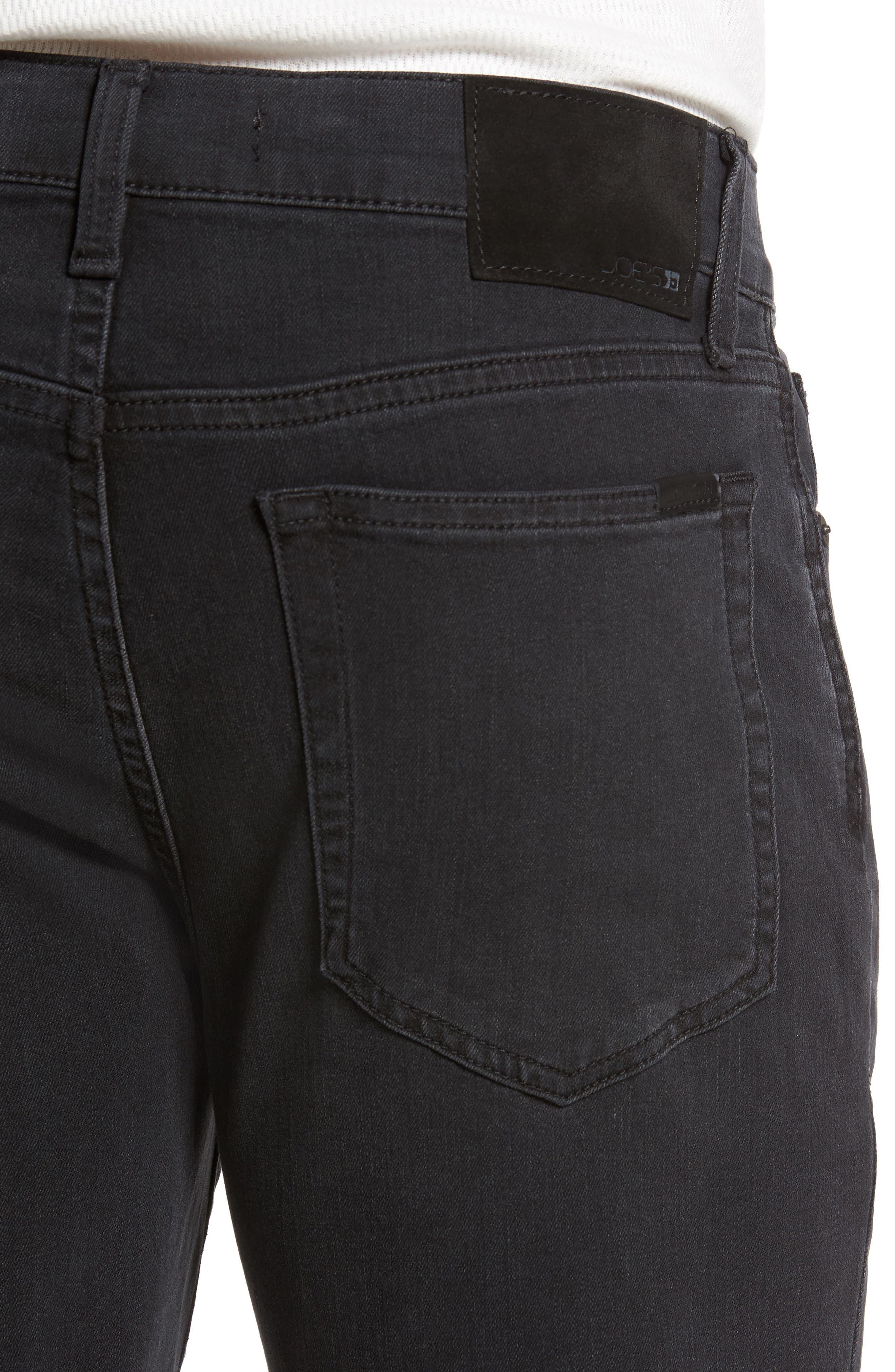 Slim Fit Jeans,                             Alternate thumbnail 4, color,                             001