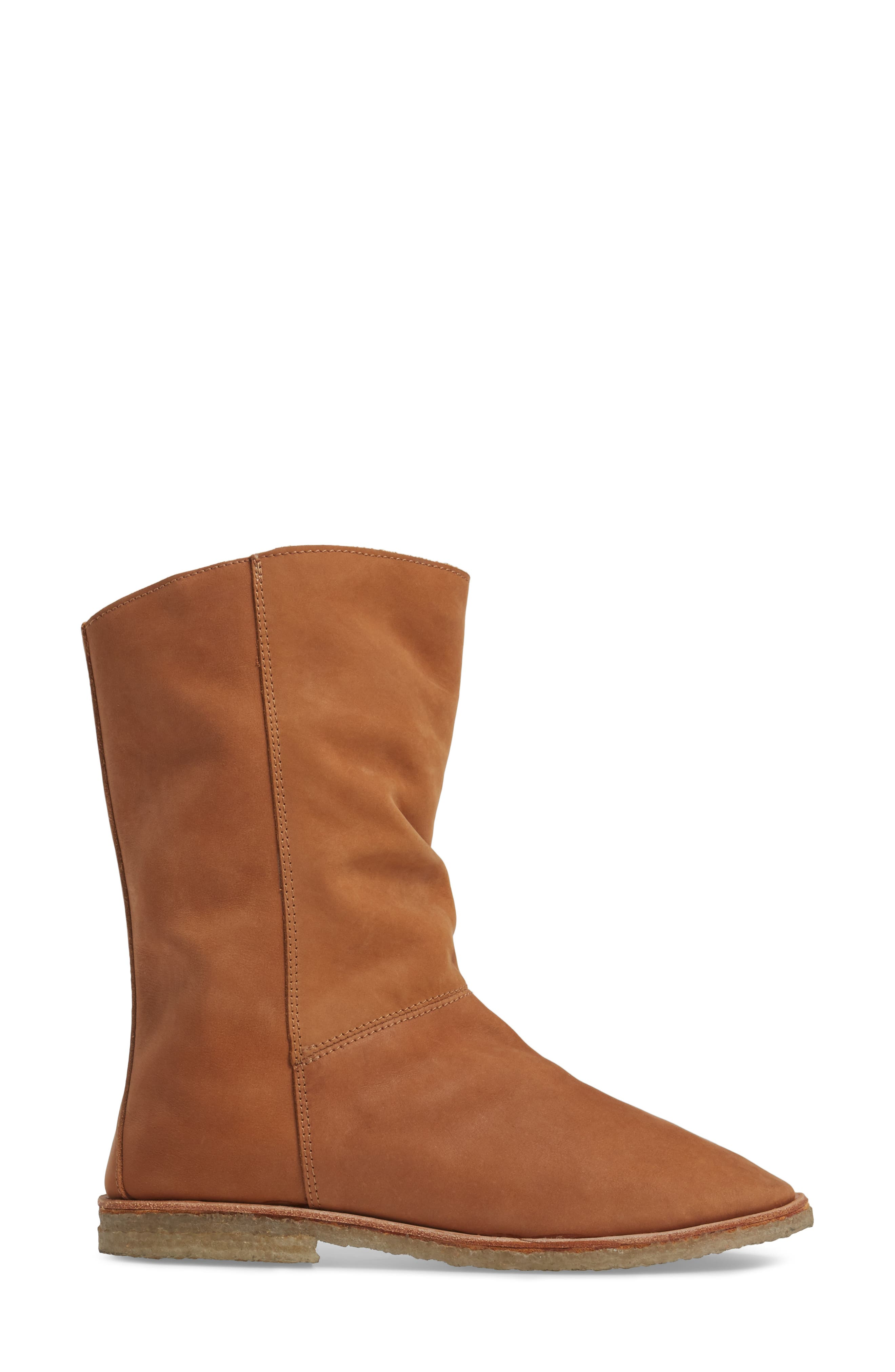 Owl Slouchy Bootie,                             Alternate thumbnail 8, color,