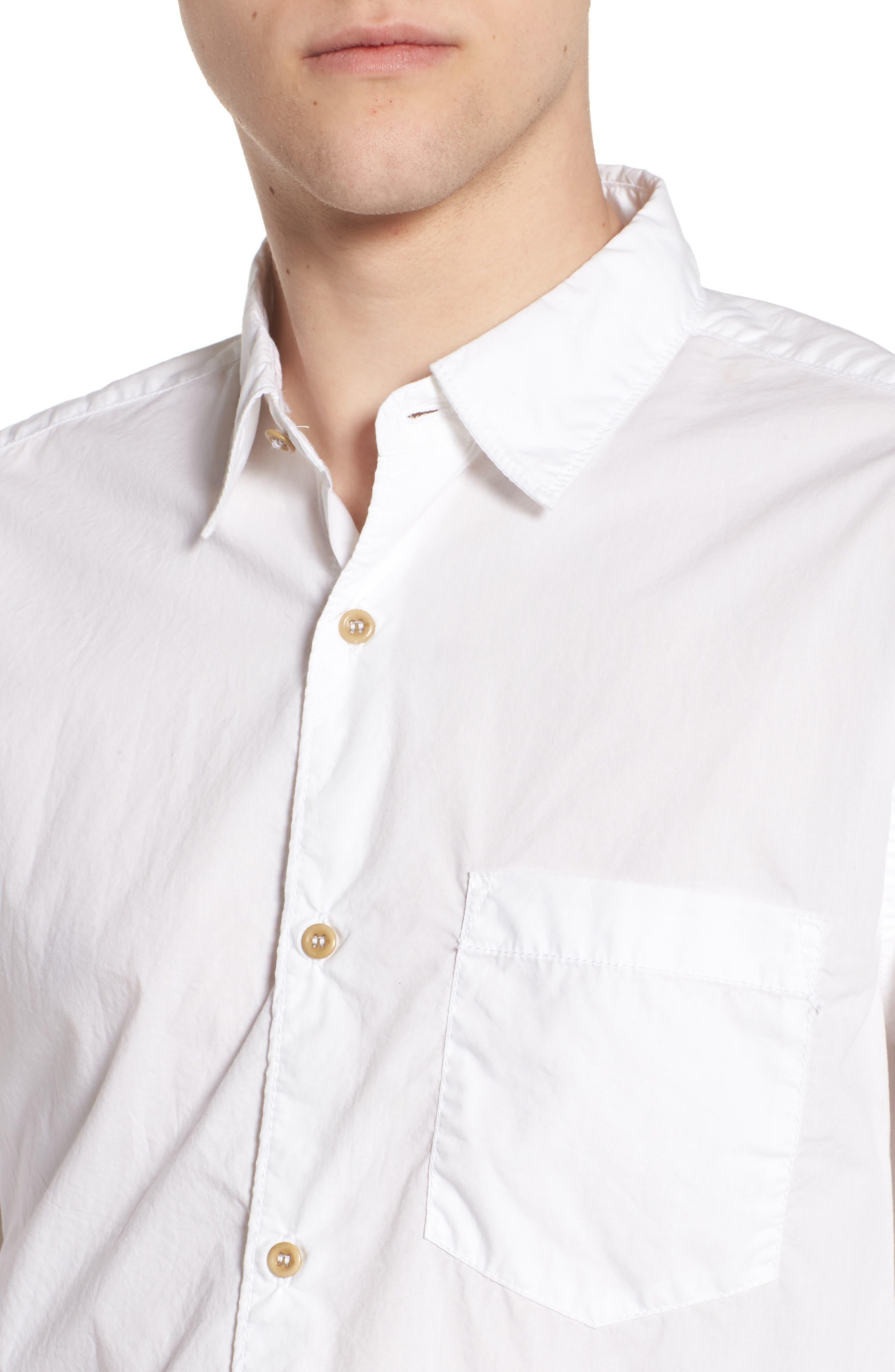 Regular Fit Poplin Sport Shirt,                             Alternate thumbnail 11, color,