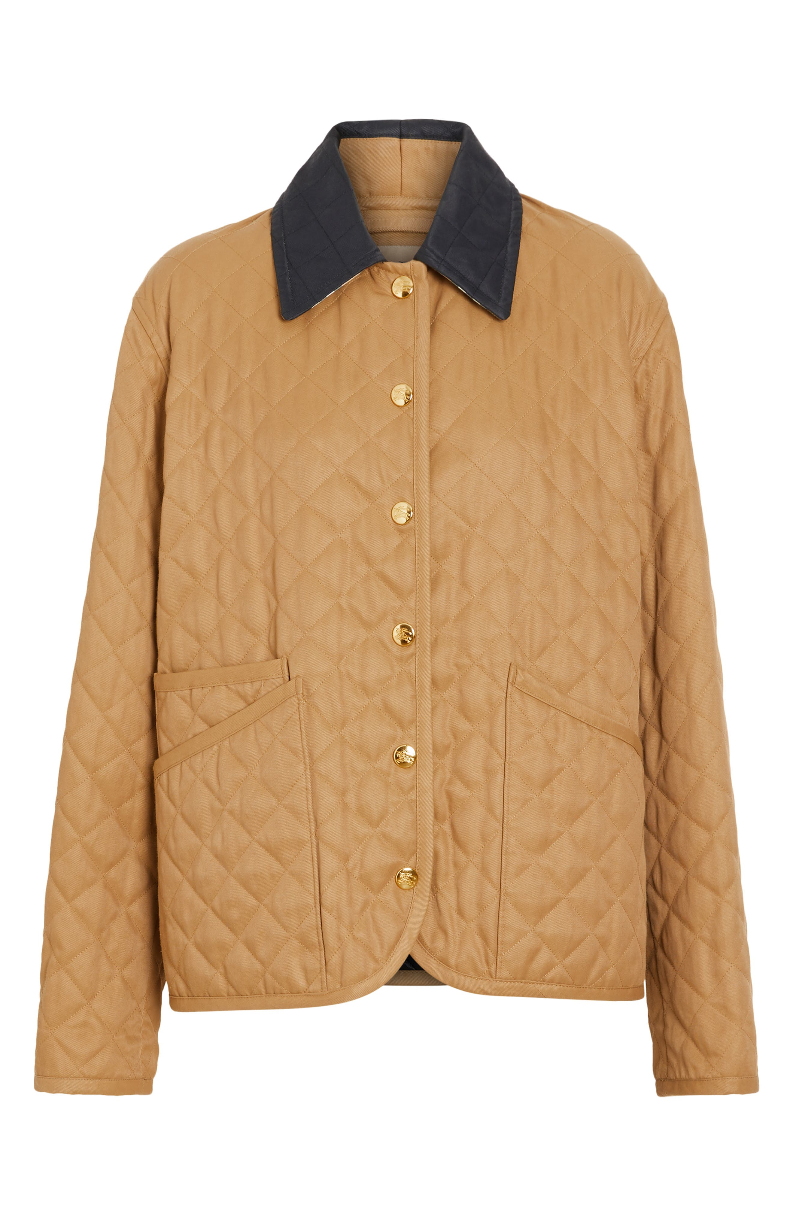 Dranefeld Quilted Jacket,                             Alternate thumbnail 5, color,                             CAMEL