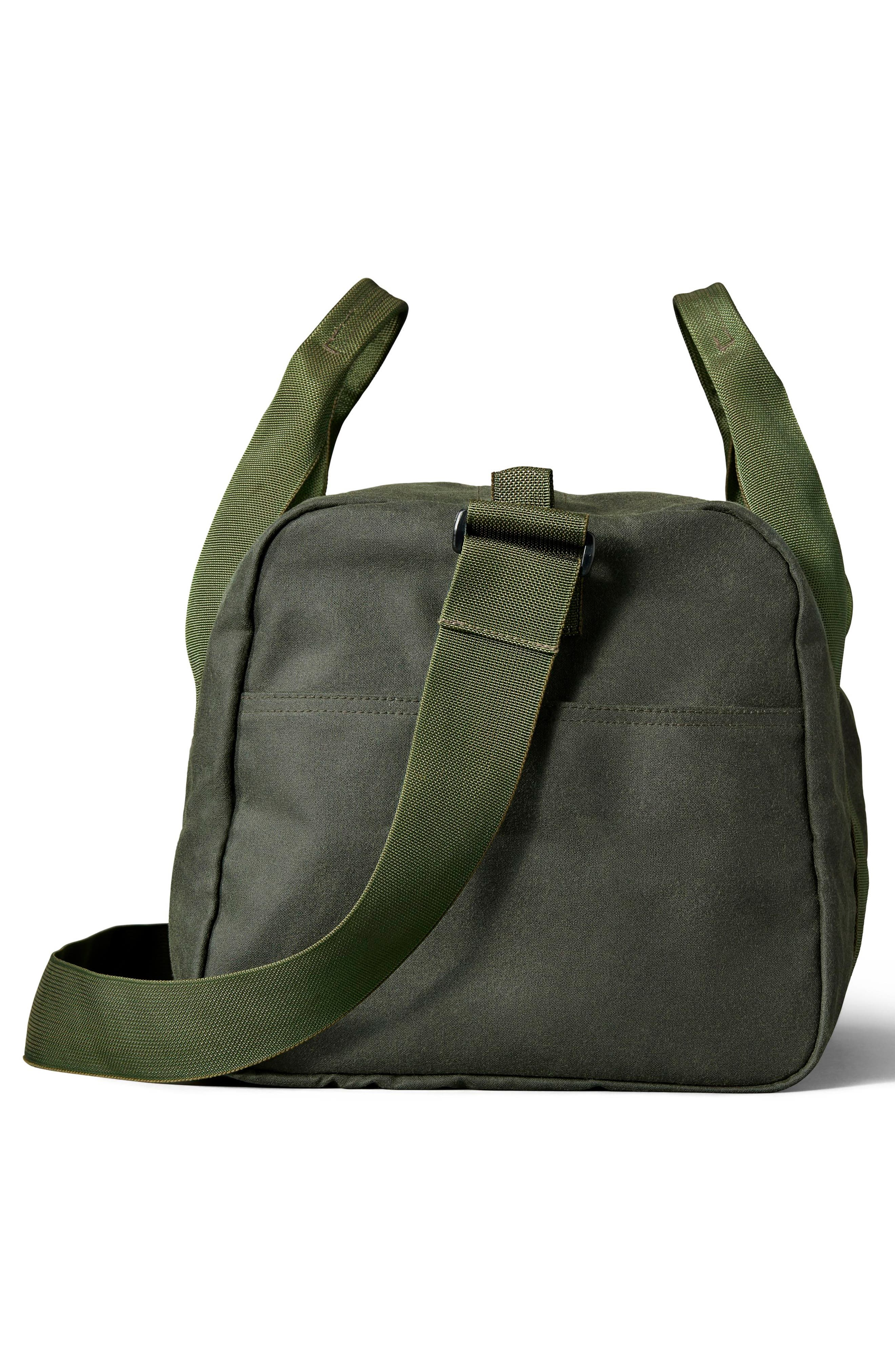 FILSON,                             Medium Field Duffel Bag,                             Alternate thumbnail 4, color,                             SPRUCE