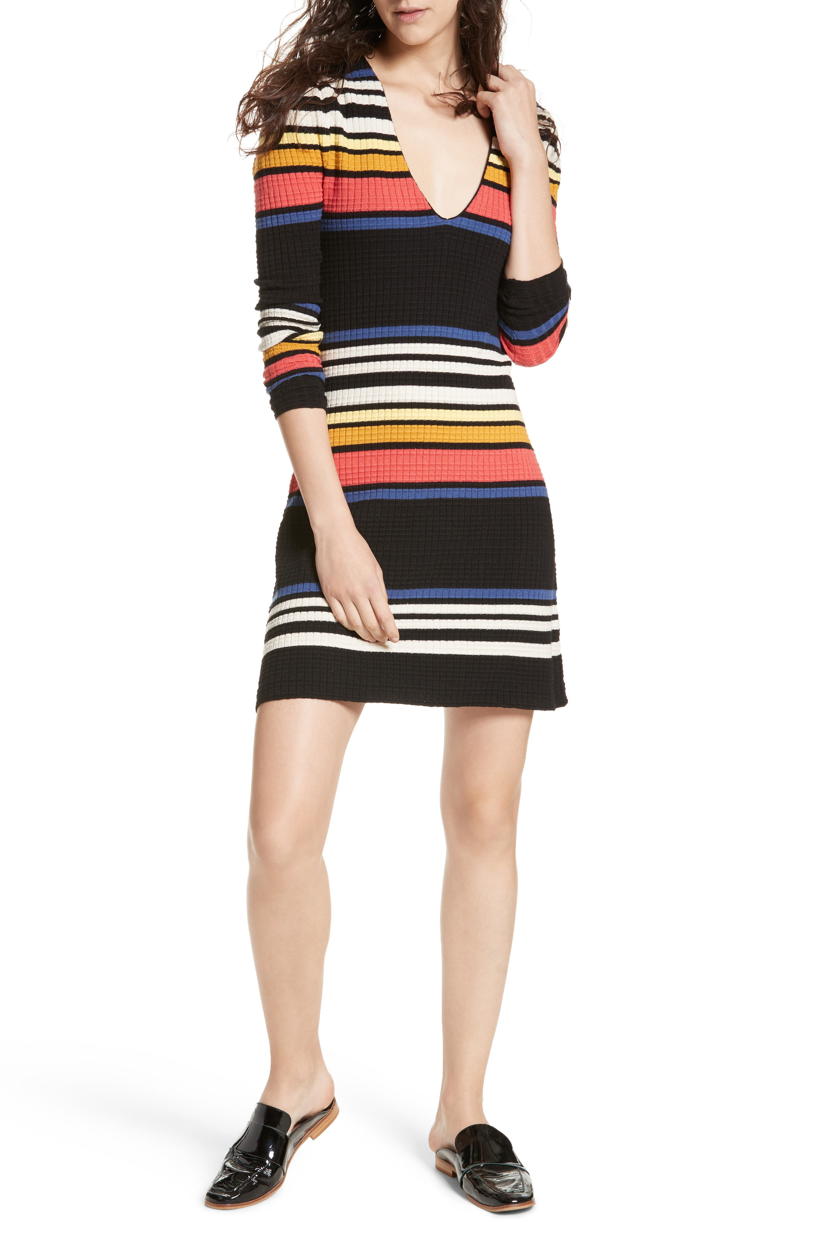 Gidget Sweater Dress,                             Main thumbnail 1, color,                             001