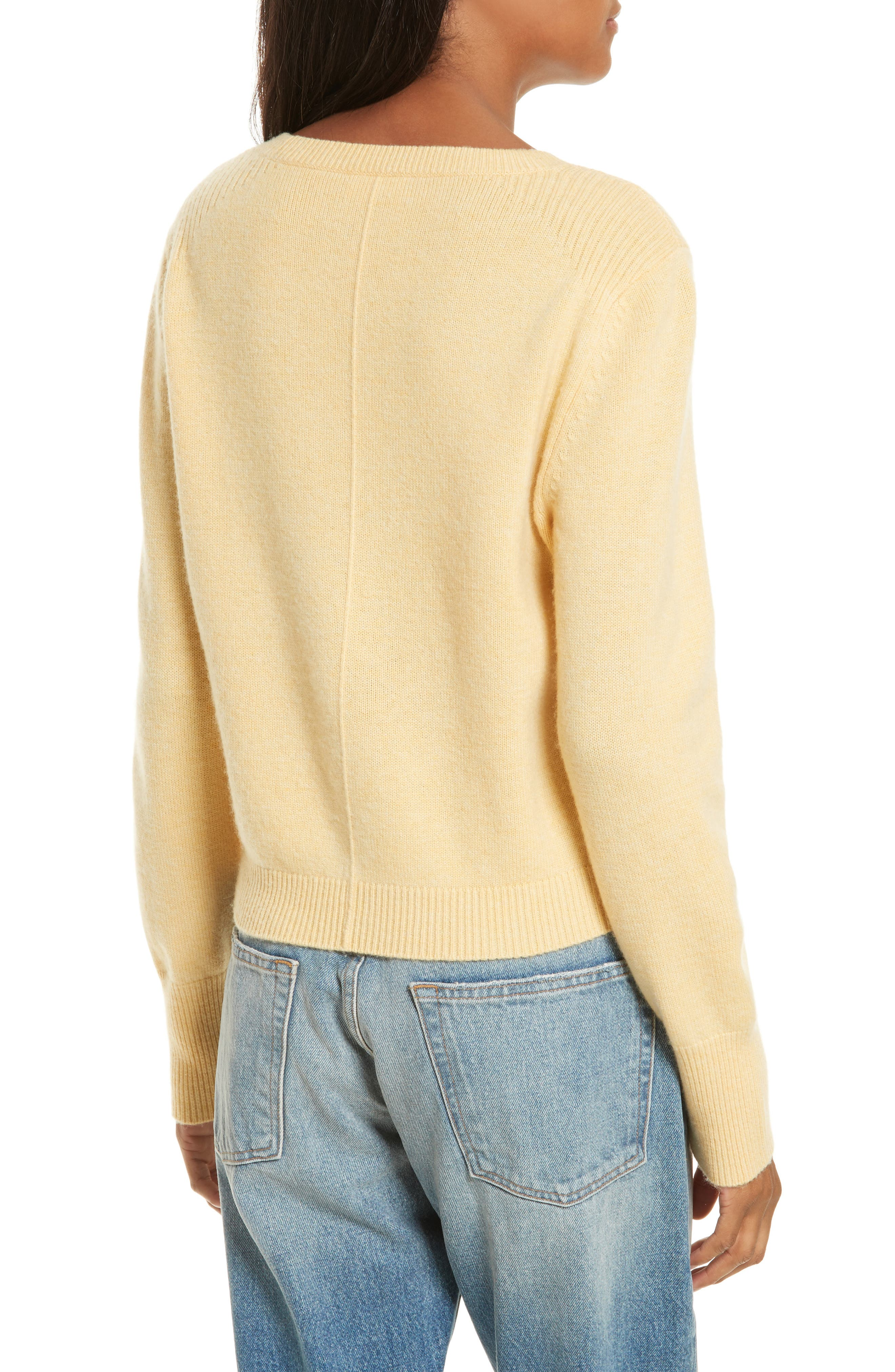 Wool & Cashmere Sweater,                             Alternate thumbnail 2, color,