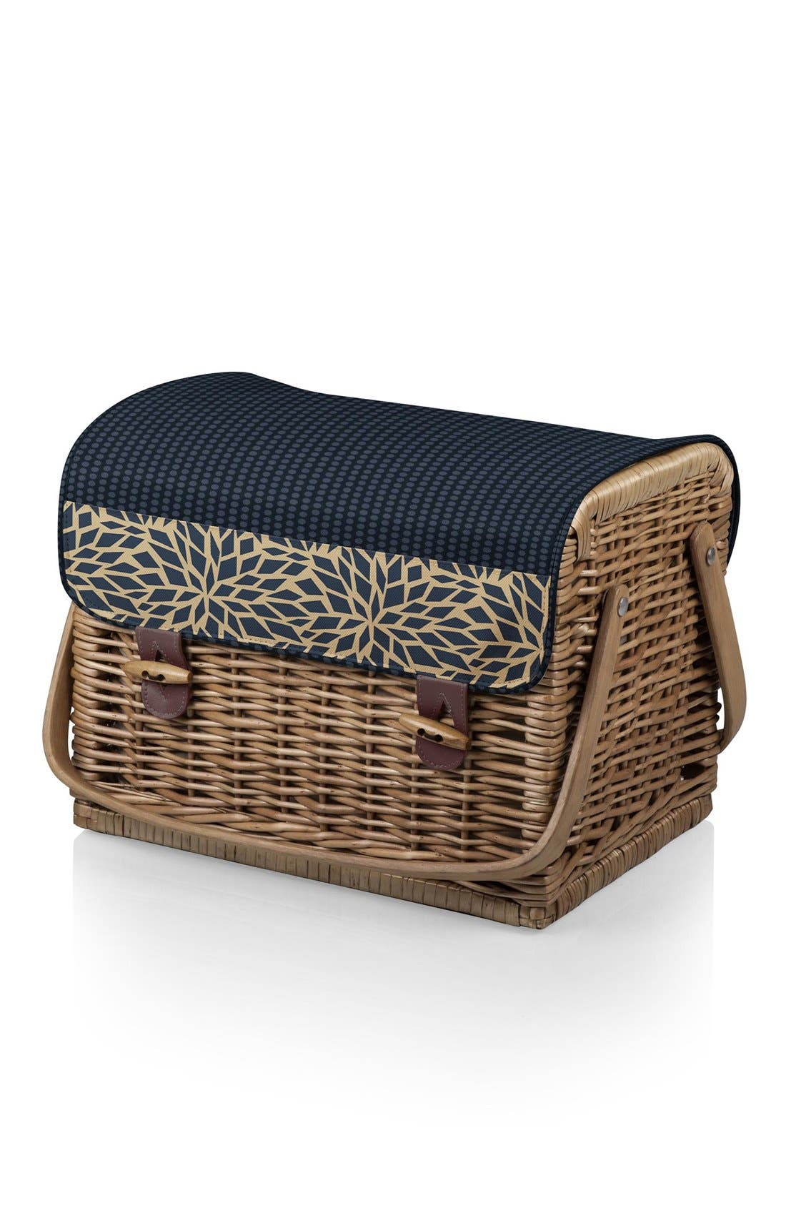 Picnic Time 'Kabrio' Wine & Cheese Picnic Basket,                             Alternate thumbnail 2, color,                             400
