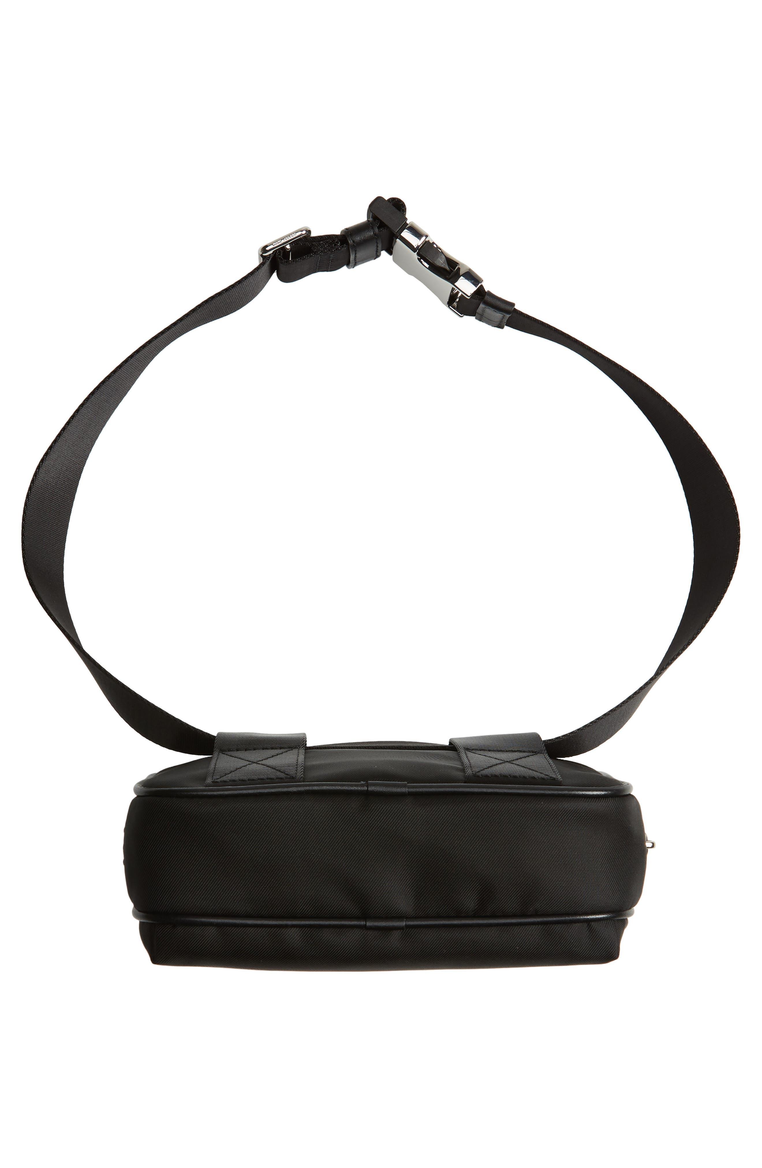 Sport Belt Bag,                             Alternate thumbnail 7, color,                             BLACK